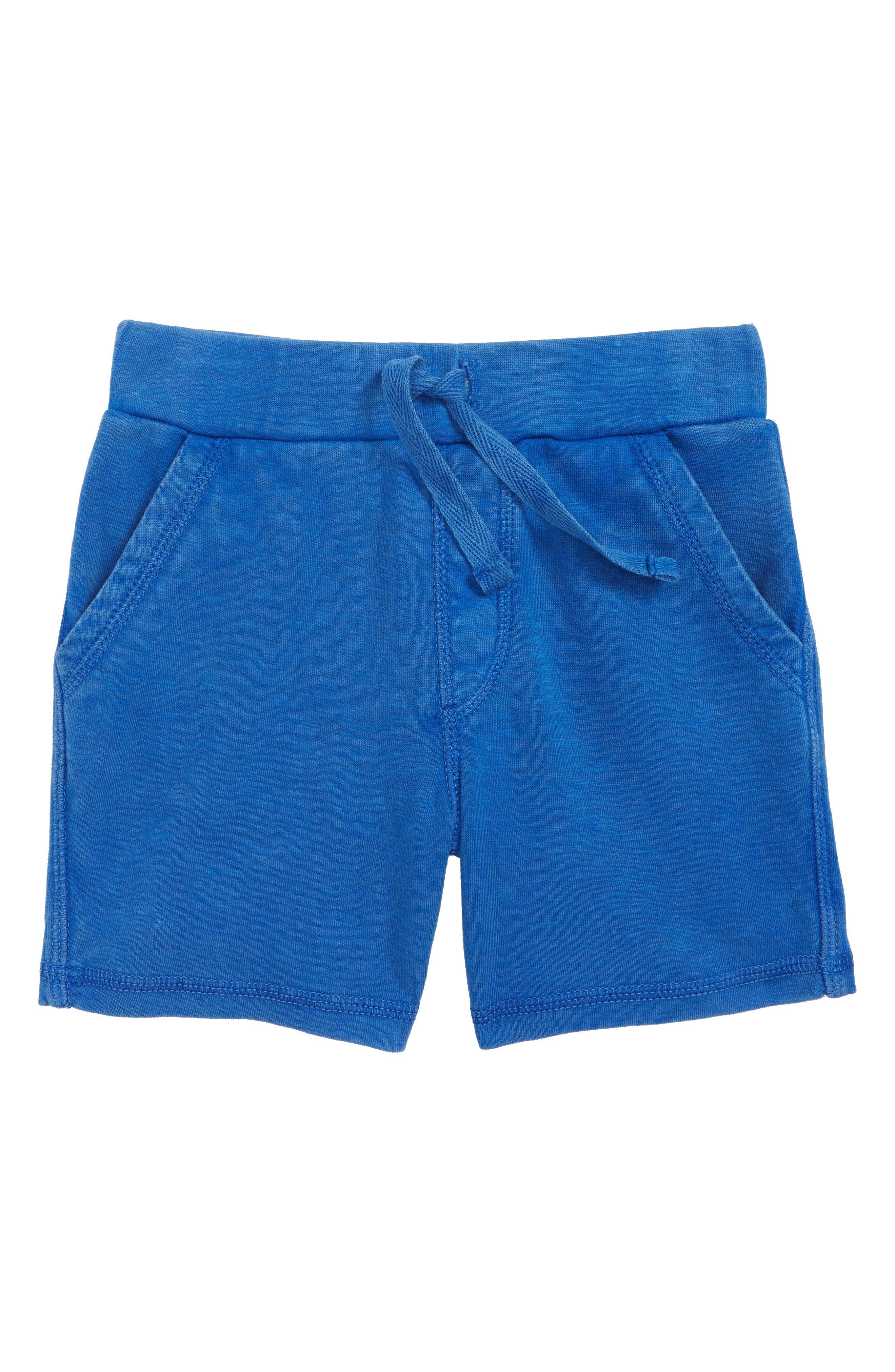 Knit Shorts,                             Main thumbnail 1, color,                             Blue Surf