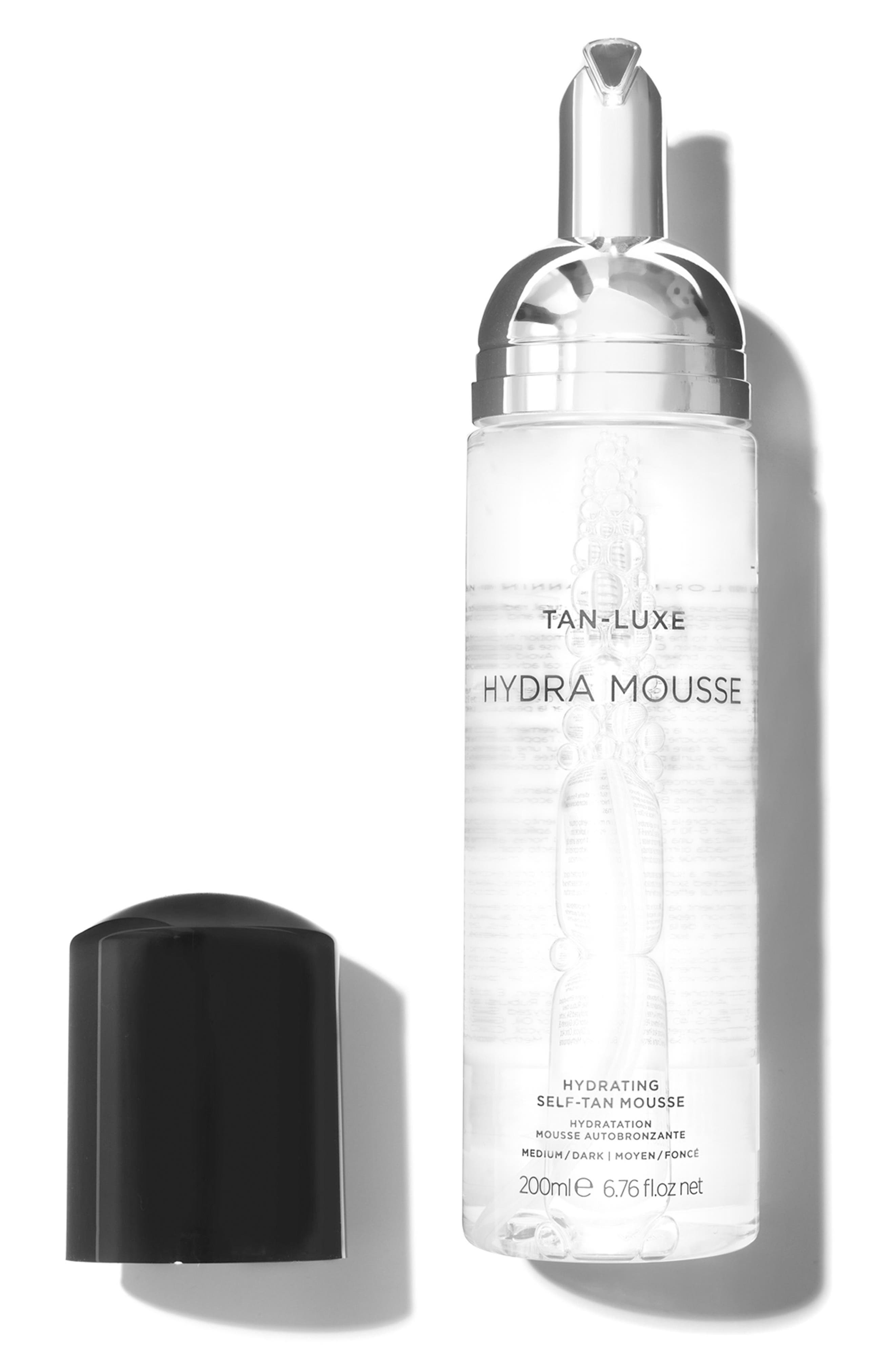 SPACE.NK.apothecary TAN-LUXE Hydra Mousse Hydrating Self-Tan Mousse,                             Alternate thumbnail 3, color,                             Medium/Dark
