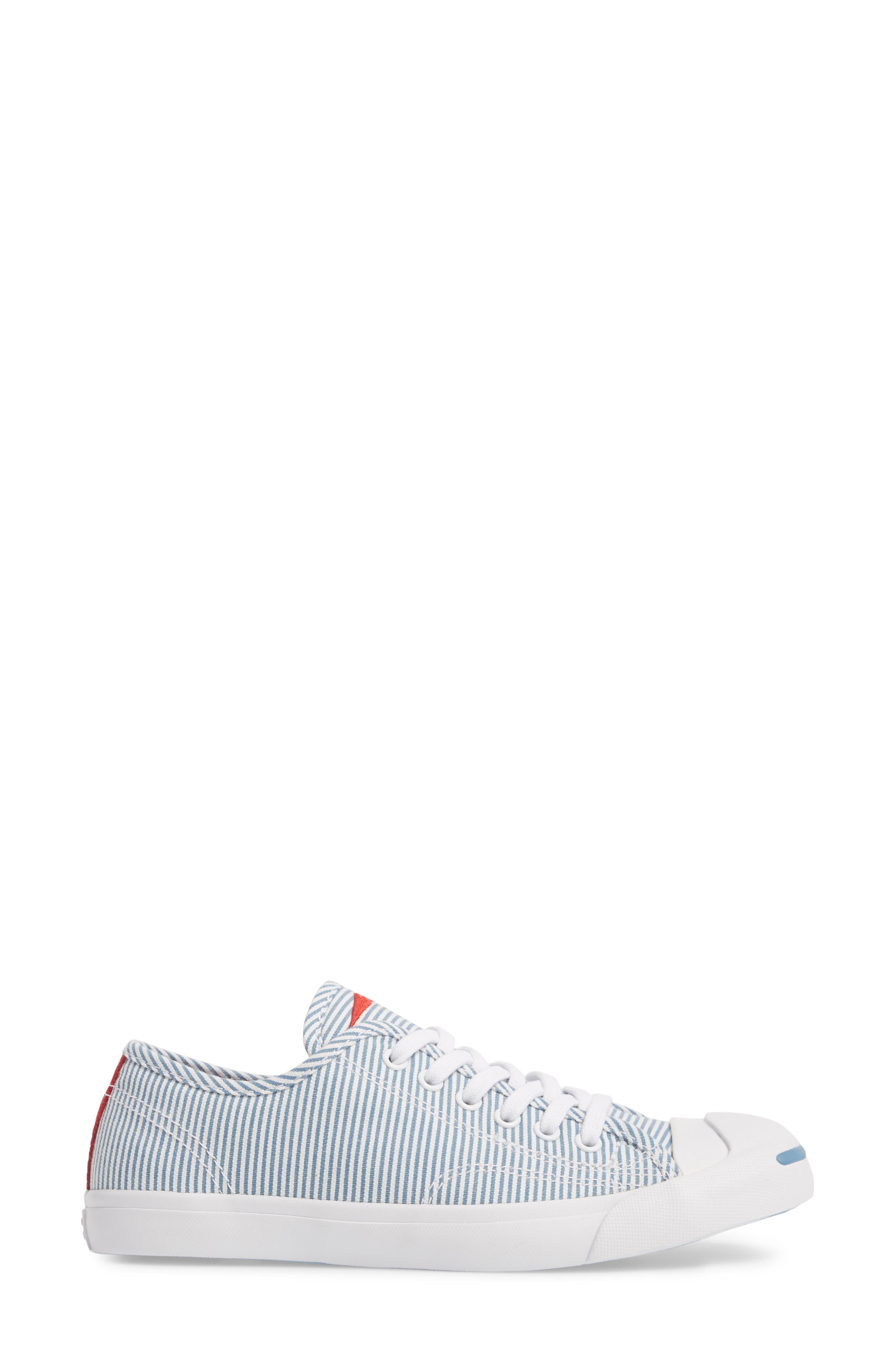 Jack Purcell Low Top Sneaker,                             Alternate thumbnail 2, color,                             Aegean Storm