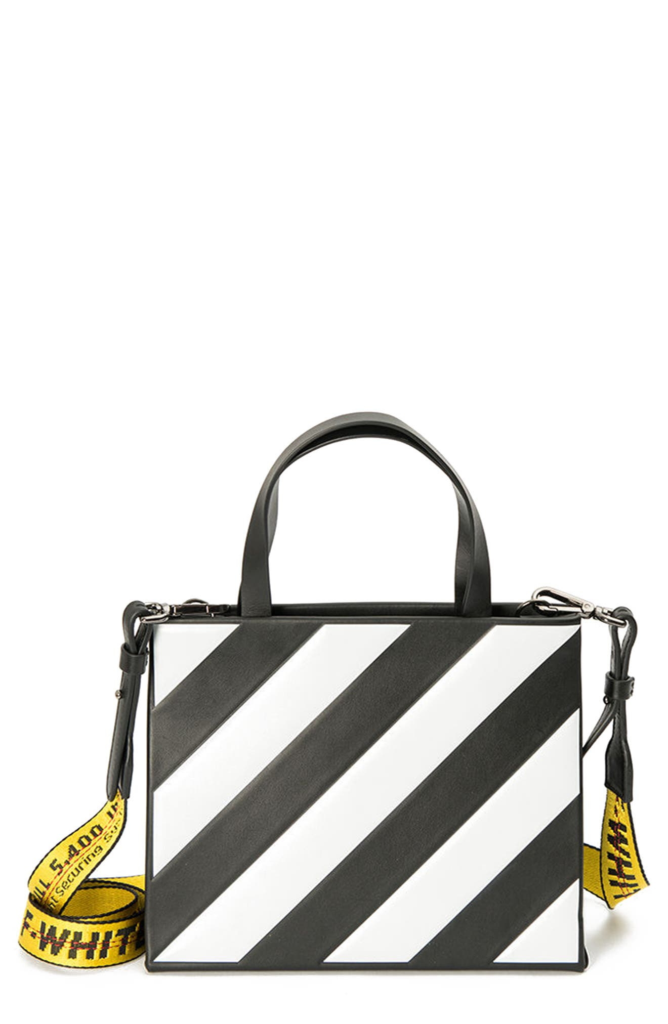 Off-White Small Diagonal Box Bag