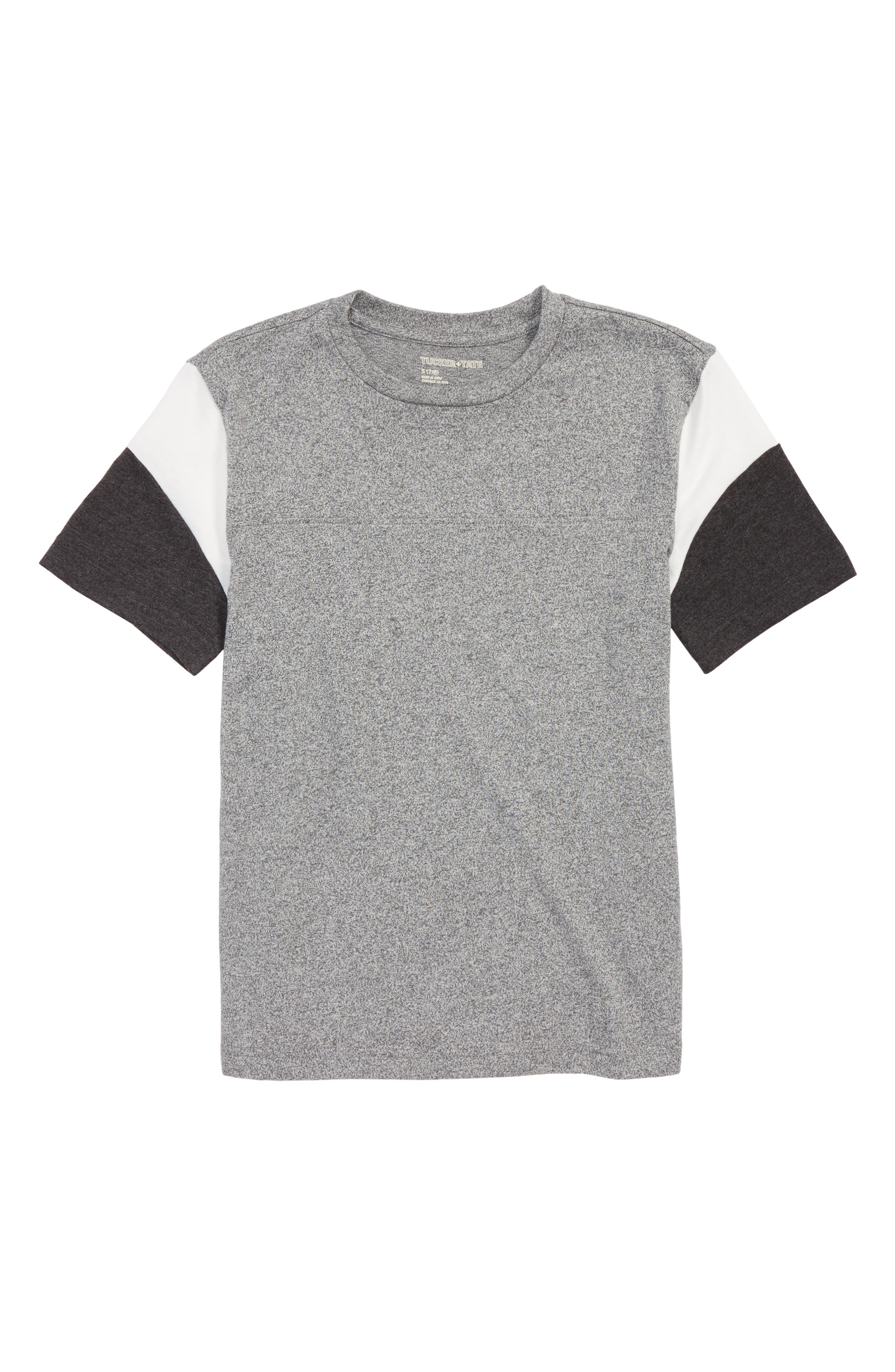 T-Shirt,                         Main,                         color, Grey Ash Htr