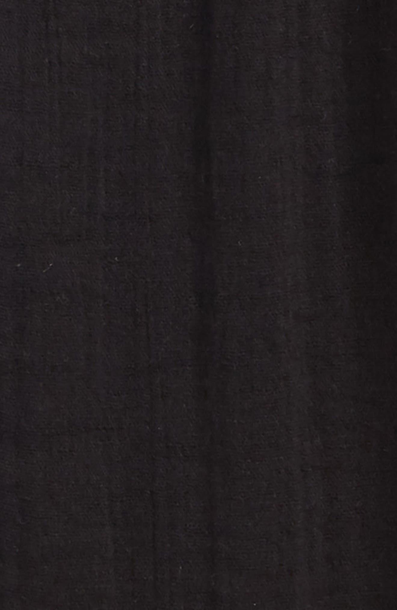 Textured Pocket Shorts,                             Alternate thumbnail 2, color,                             Black