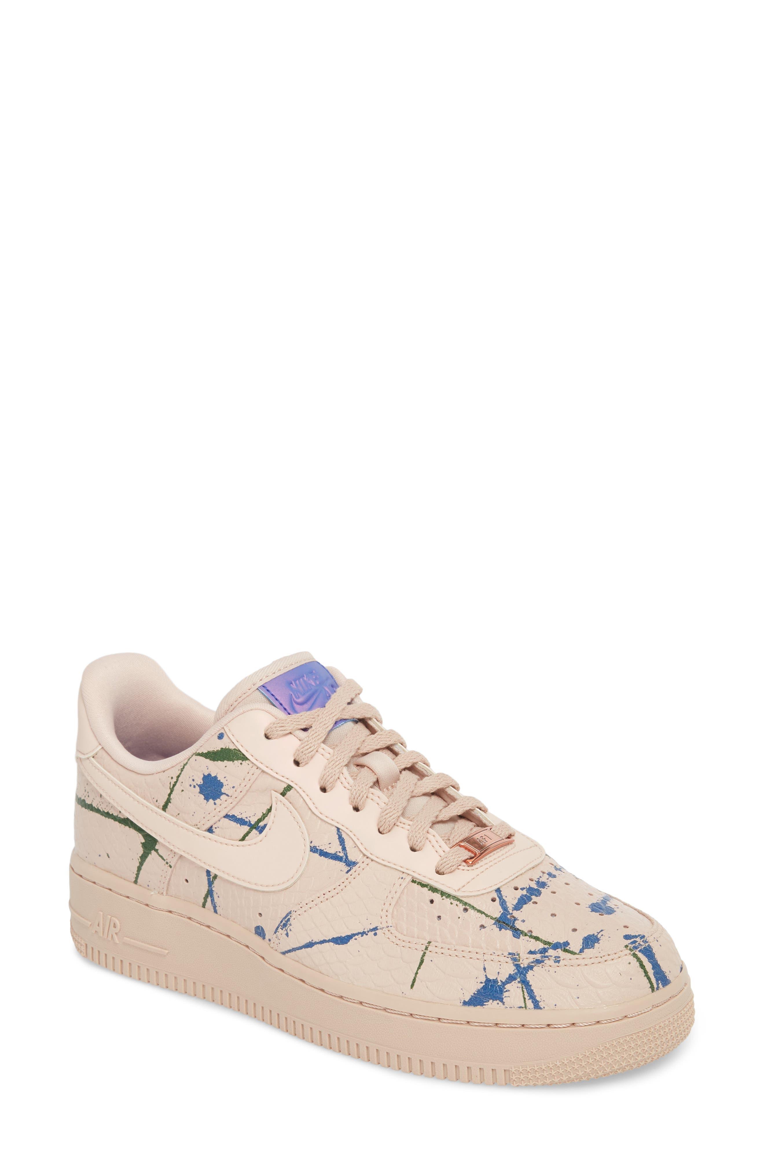 womens nike air force 1 white. Nike Air Force 1 \u002707 LX Sneaker (Women) Womens White