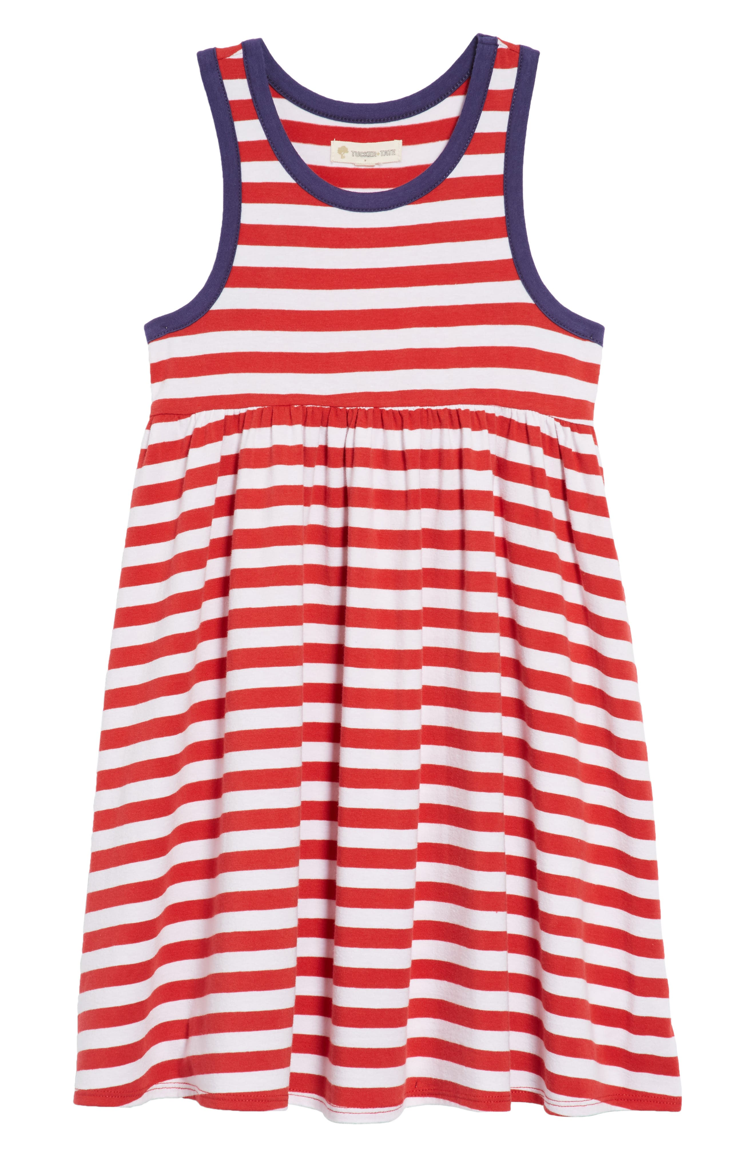 Tucker + Tate Racerback Stripe Dress (Toddler Girls, Little Girls and Big Girls)