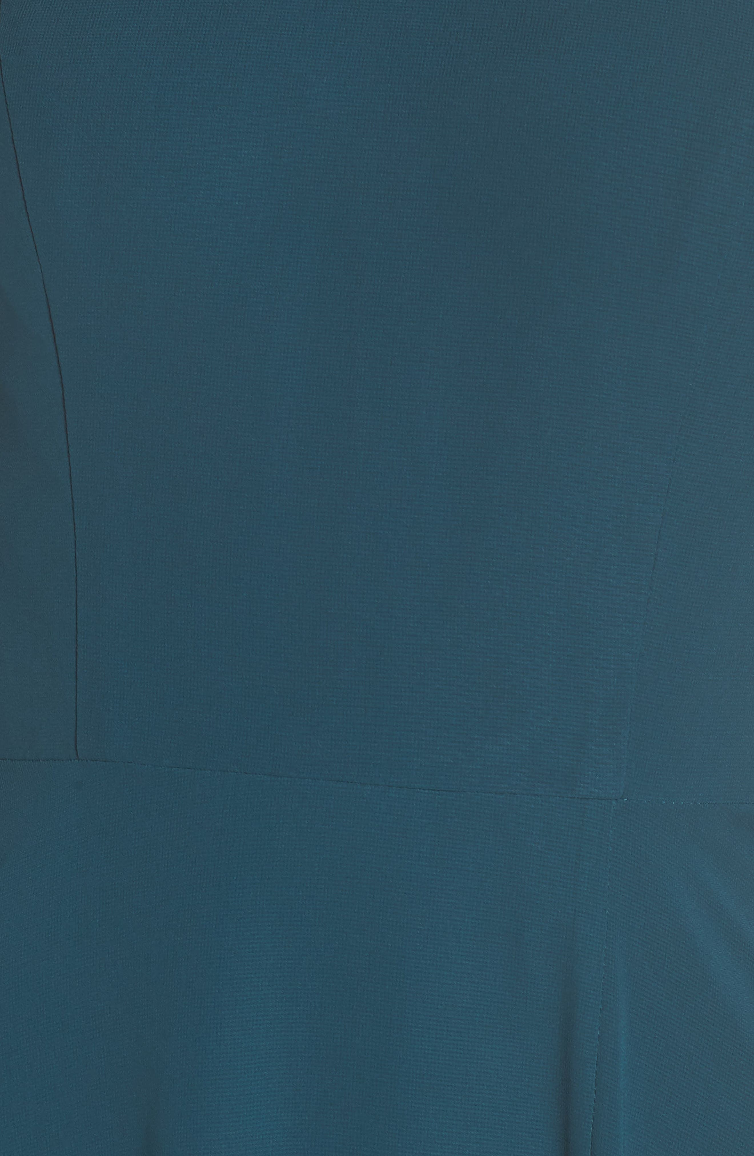 Alternate Image 5  - Jenny Yoo Kayla A-Line Halter Gown