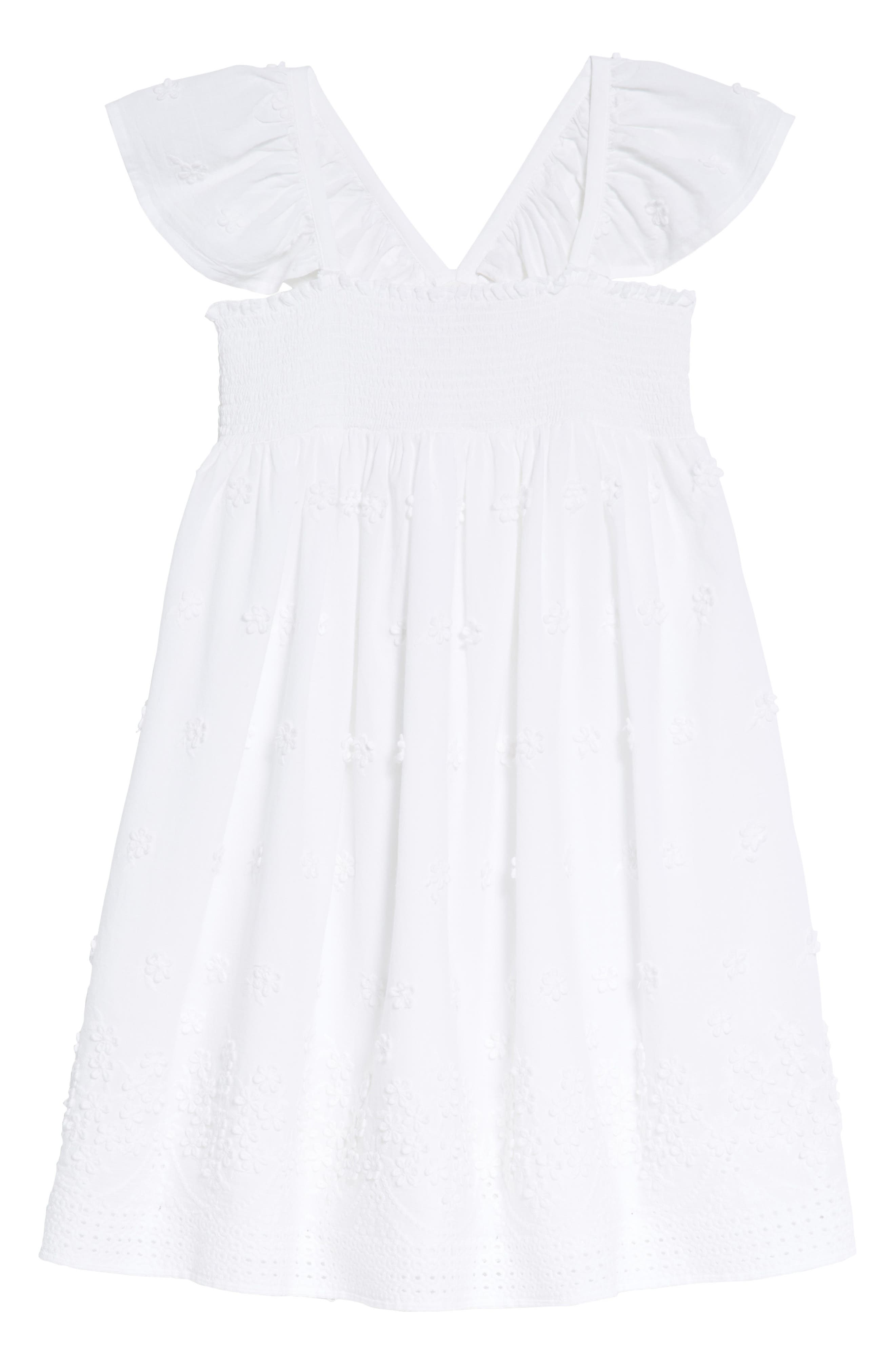 Ruby & Bloom Flutter Sleeve Dress (Toddler Girls, Little Girls & Big Girls)