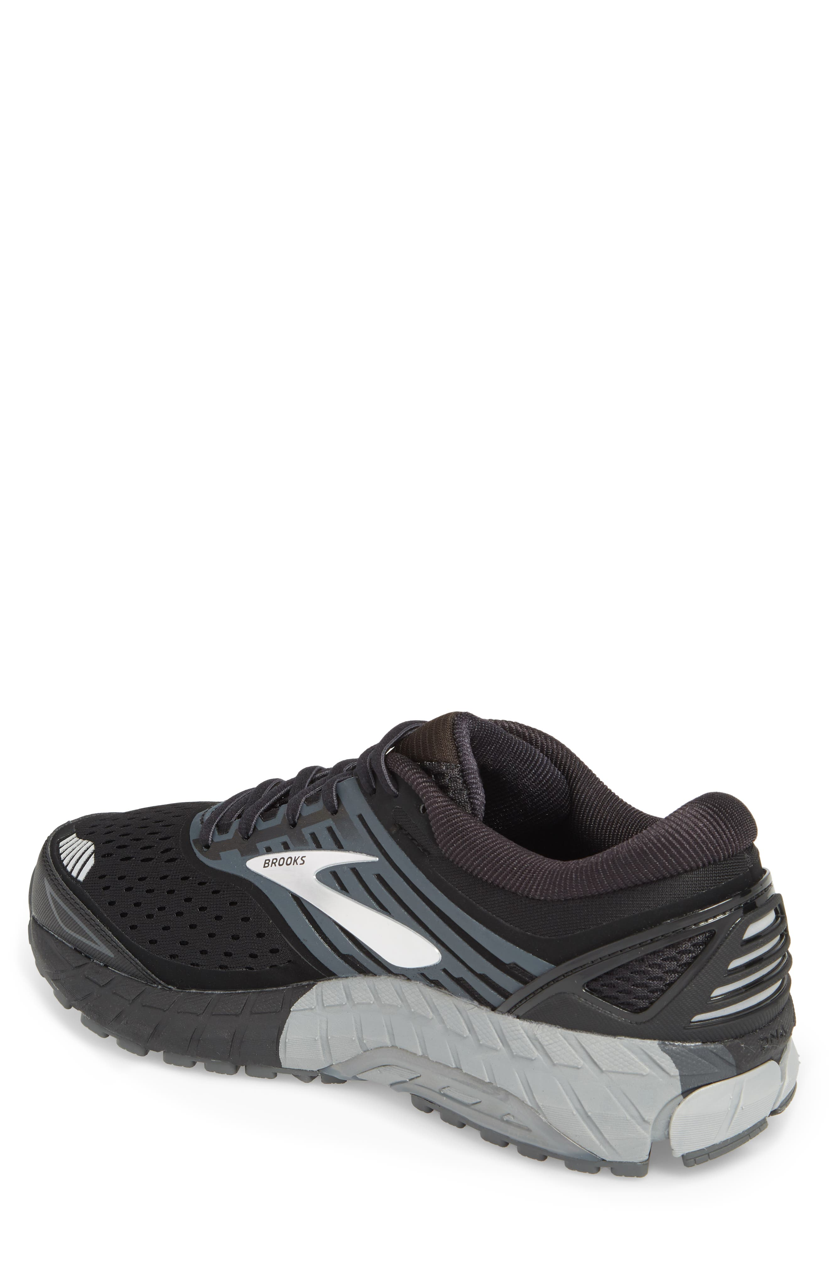 Beast '18 Running Shoe,                             Alternate thumbnail 2, color,                             Black/ Grey/ Silver