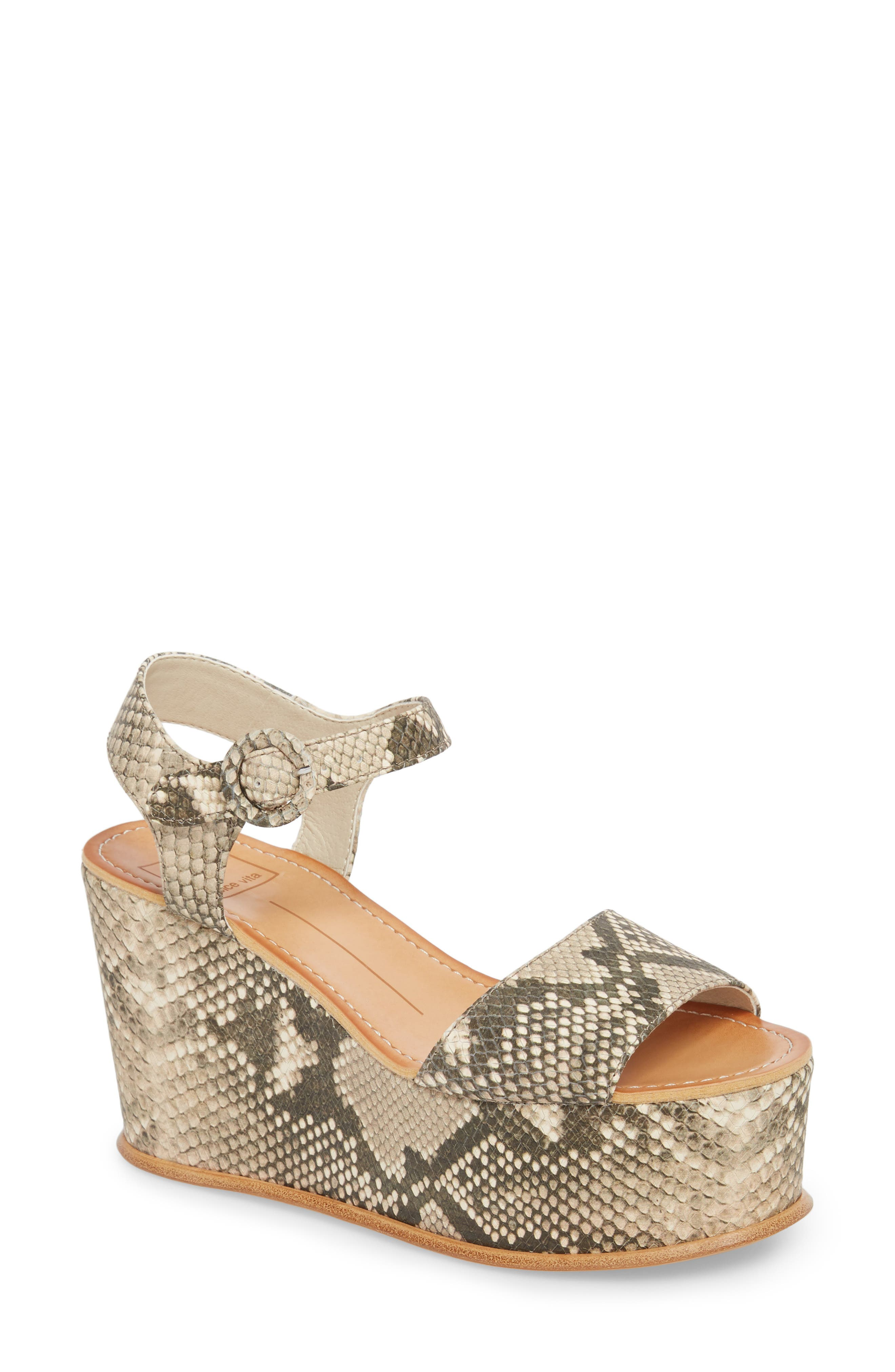 Dolce Vita Datiah Platform Wedge Sandal (Women)