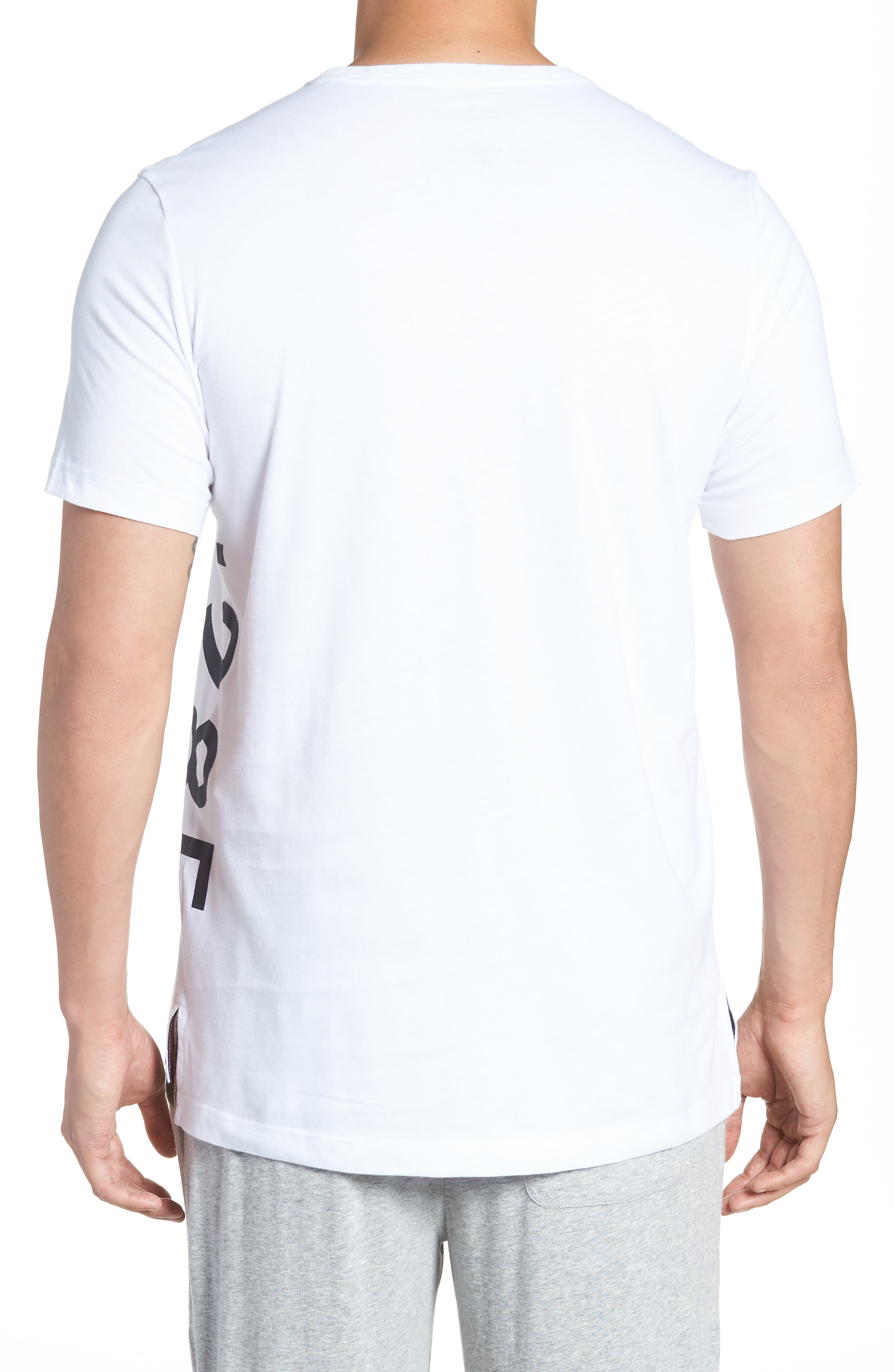 1985 Stripe T-Shirt,                             Alternate thumbnail 2, color,                             White