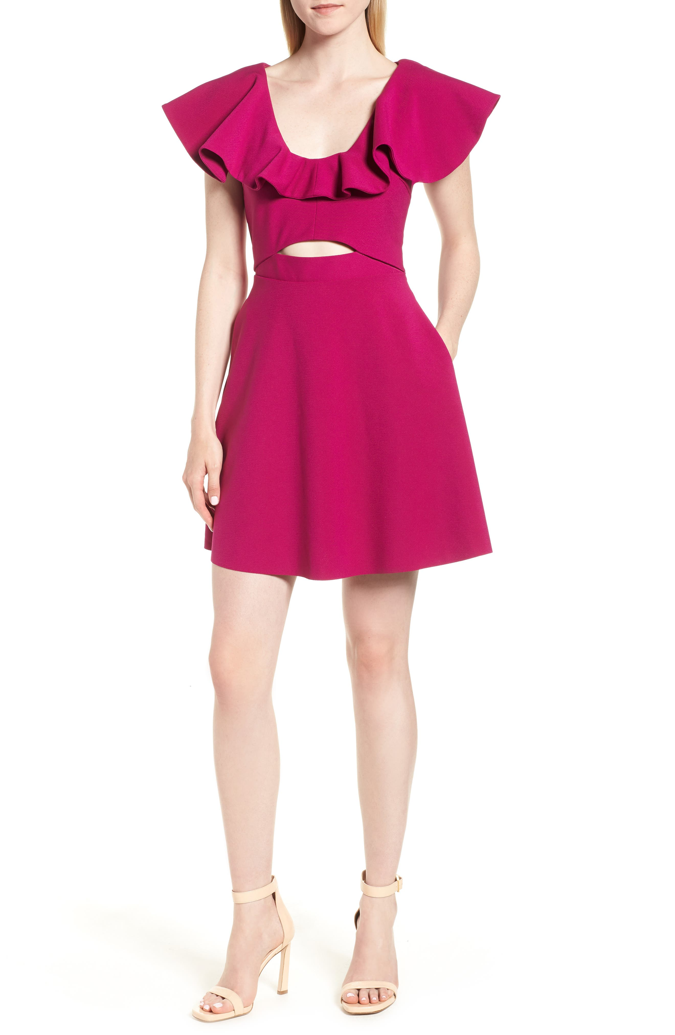 ELLIATT BLAIR FIT & FLARE DRESS