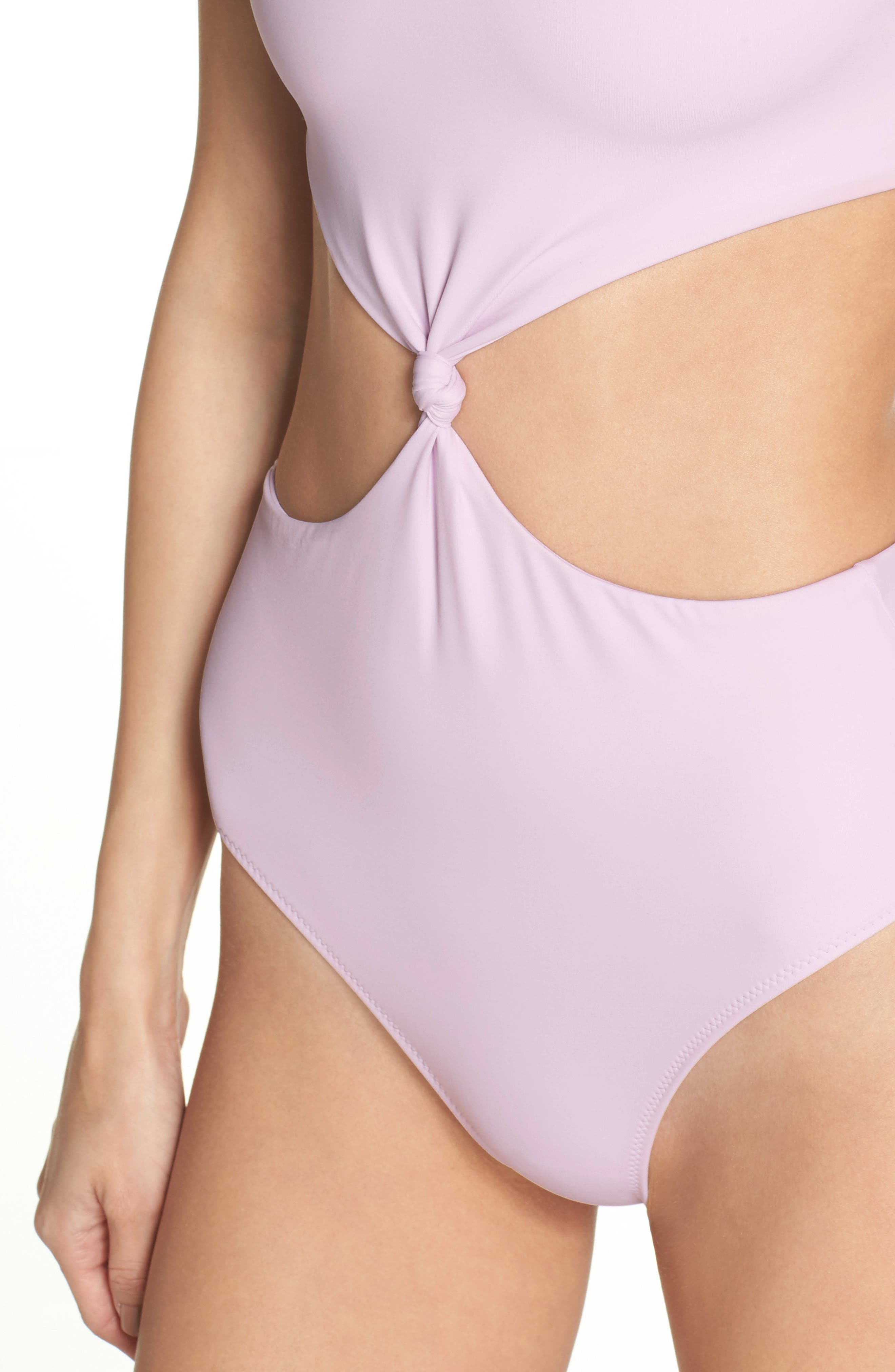 The Bailey One-Piece Swimsuit,                             Alternate thumbnail 4, color,                             Purple