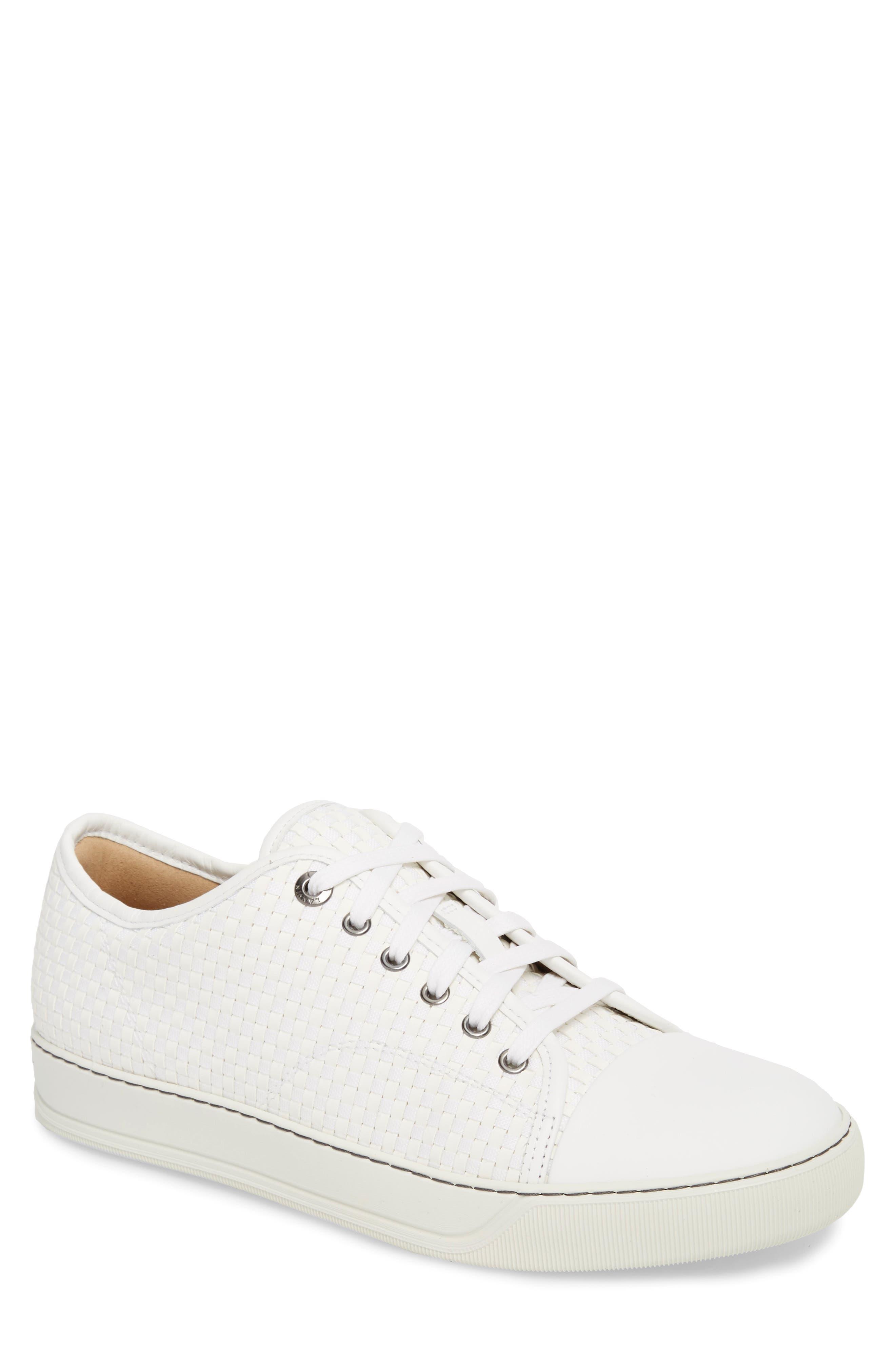 Lanvin Woven Low Top Sneaker (Men)