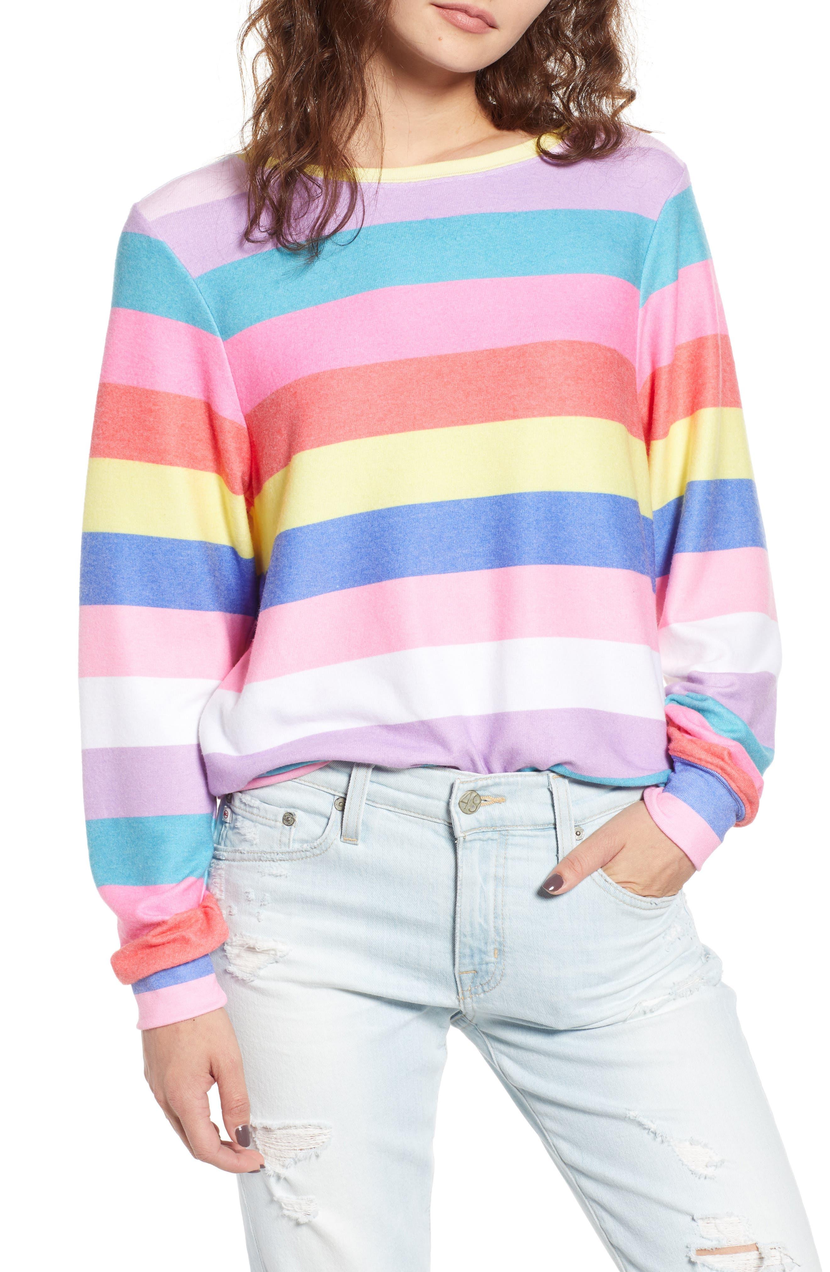 Castaway Roadtrip Sweatshirt,                             Main thumbnail 1, color,                             Multi Colored