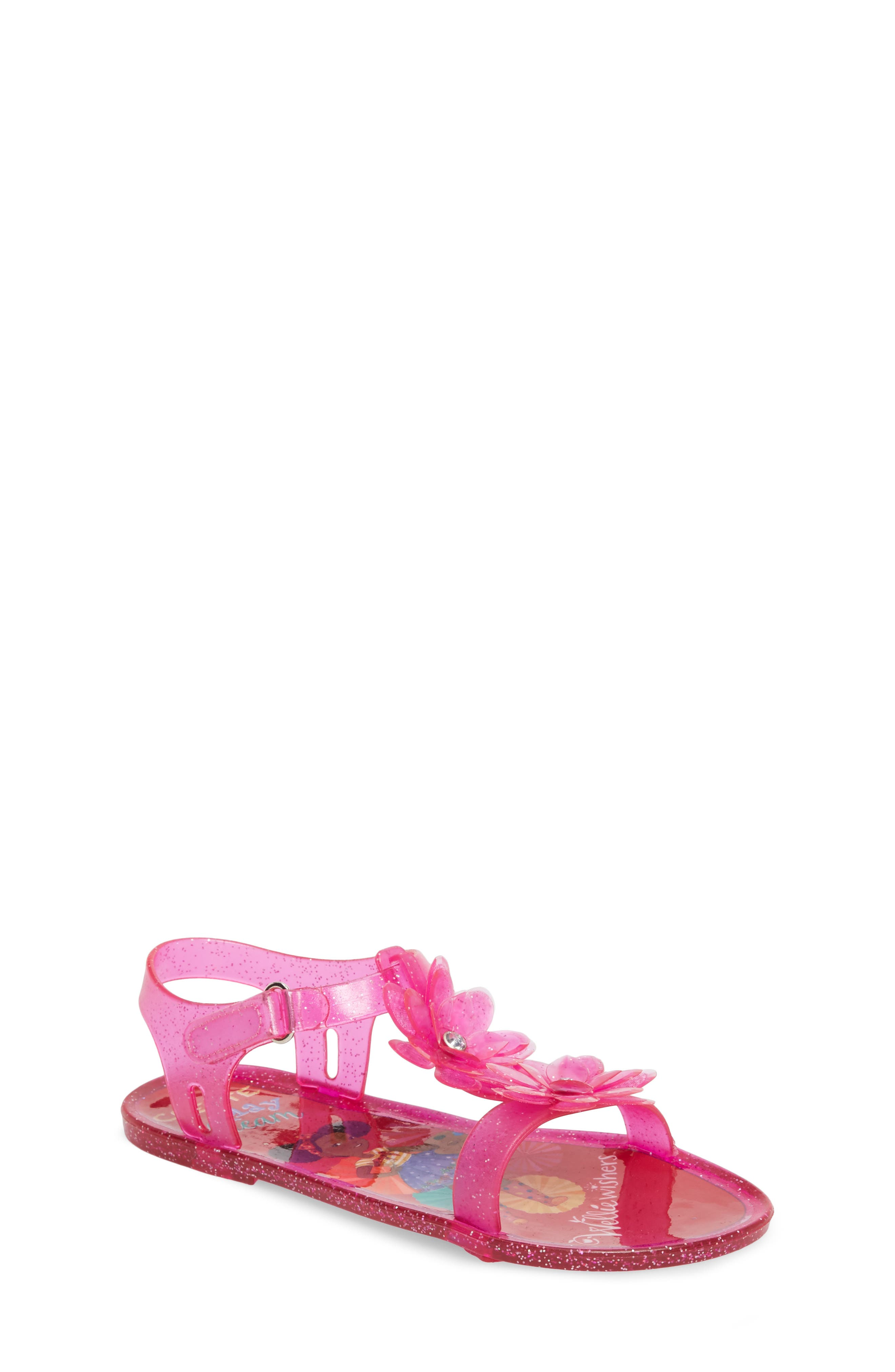 WellieWishers from American Girl Kendall Flower Jelly Sandal (Walker, Toddler & Little Kid)