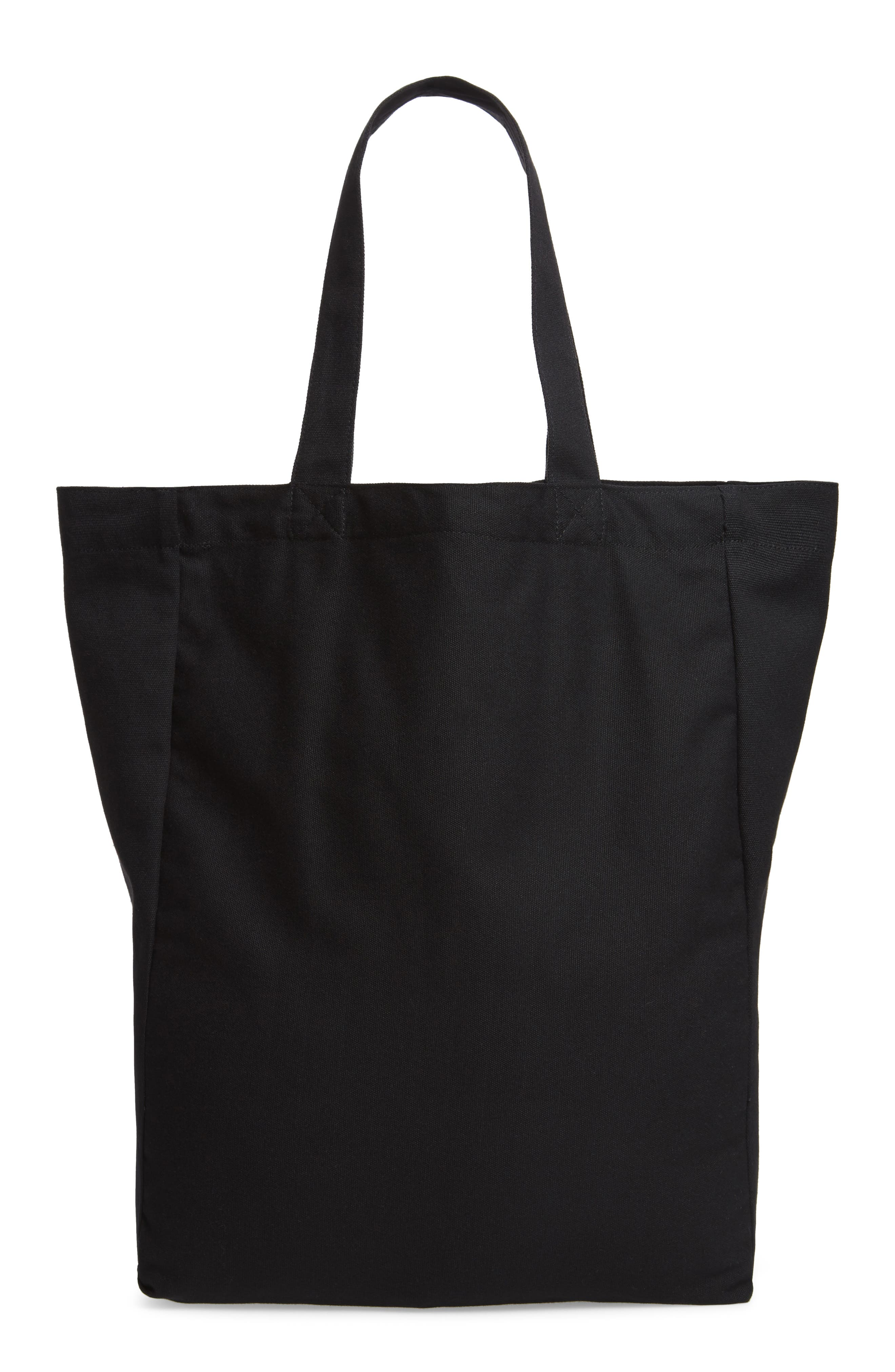Established USA Tote Bag,                             Alternate thumbnail 3, color,                             Black