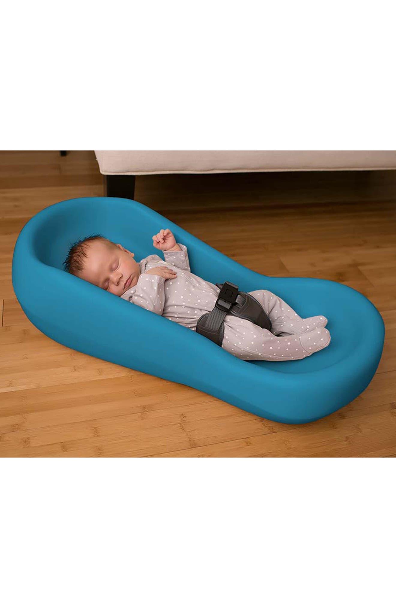 Snoozer<sup>®</sup> Infant Lounger,                             Alternate thumbnail 2, color,                             Aqua