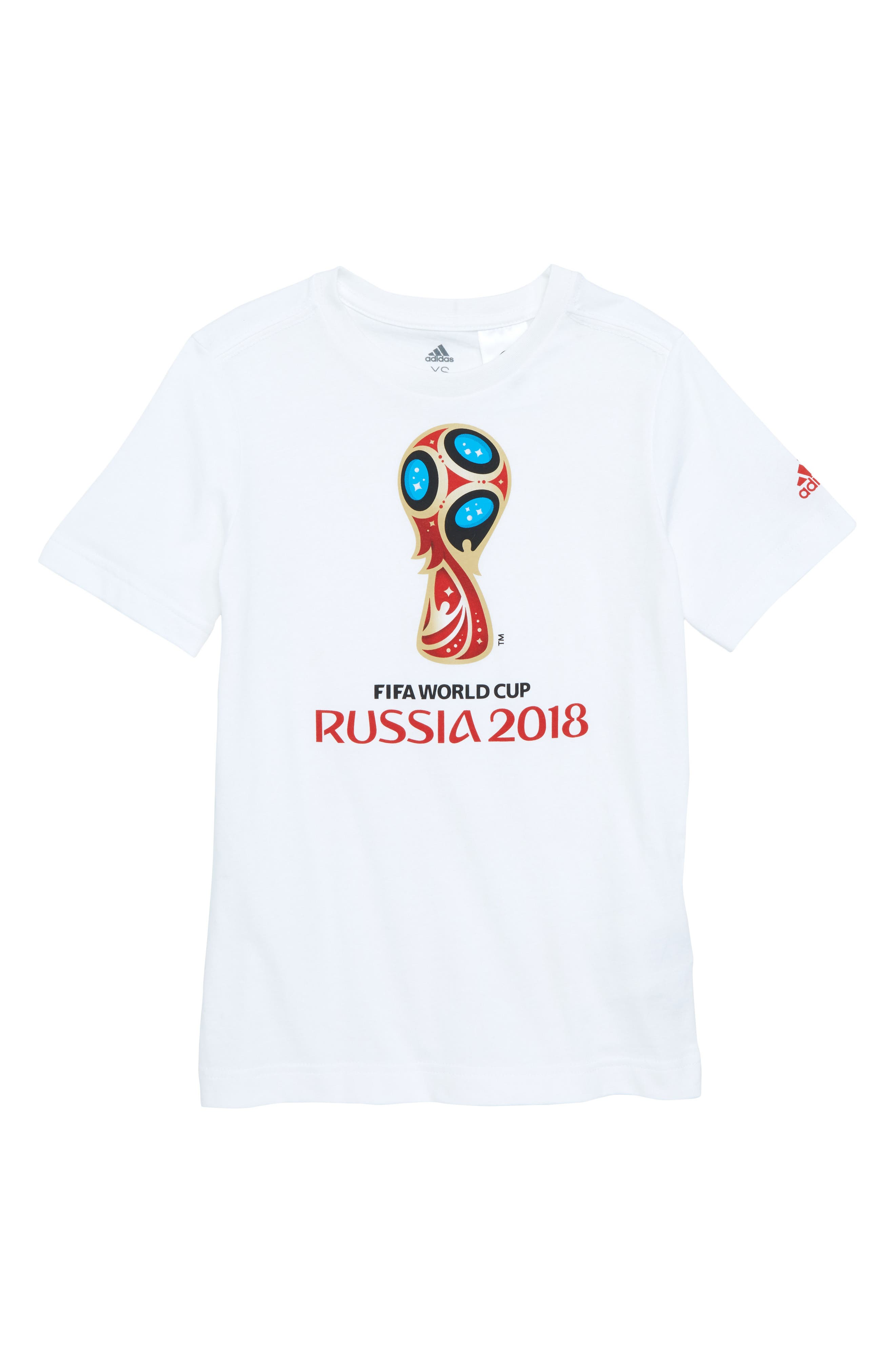 Emblem Graphic T-Shirt,                         Main,                         color, White