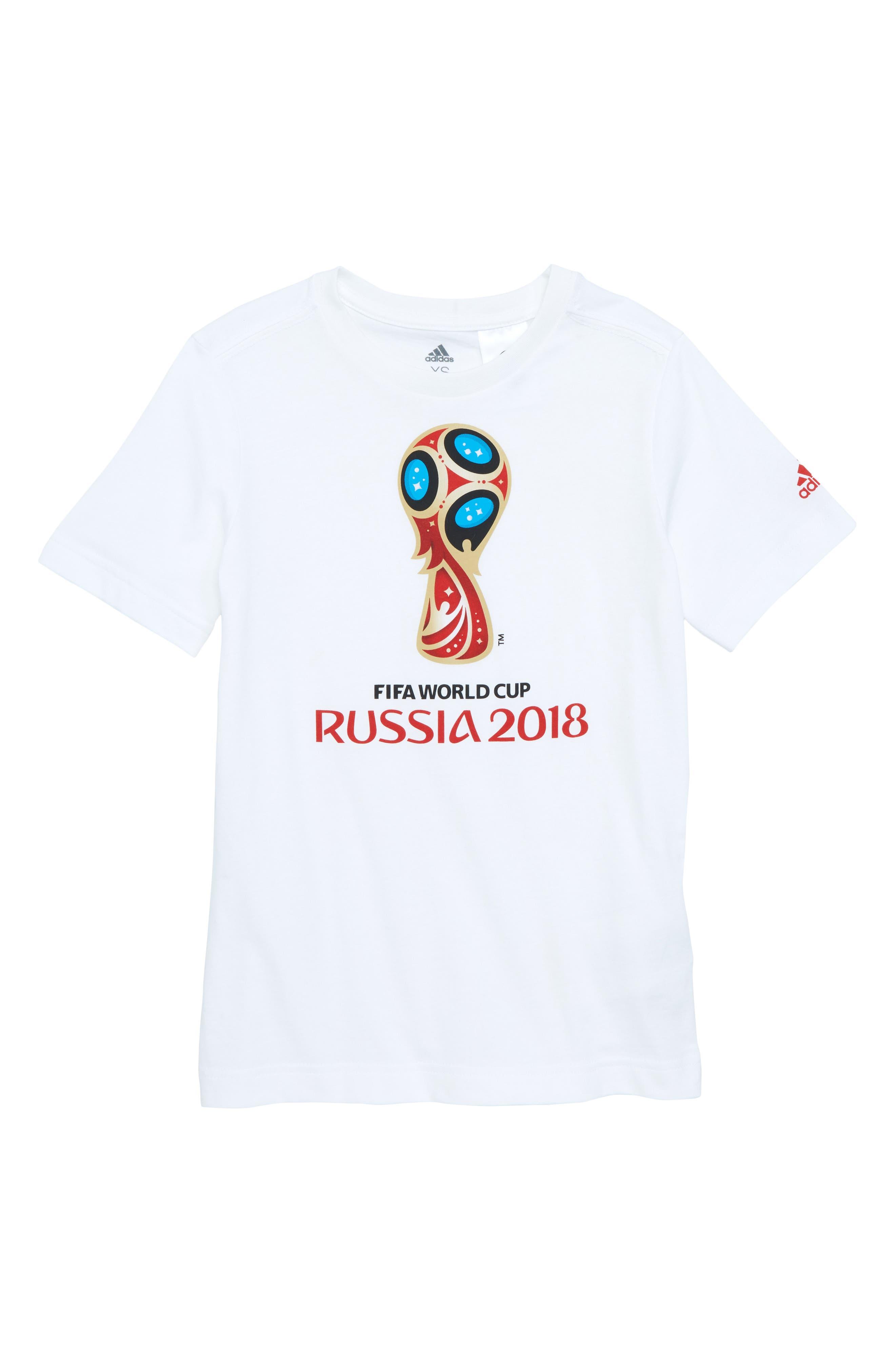 adidas Emblem Graphic T-Shirt (Little Boys & Big Boys)
