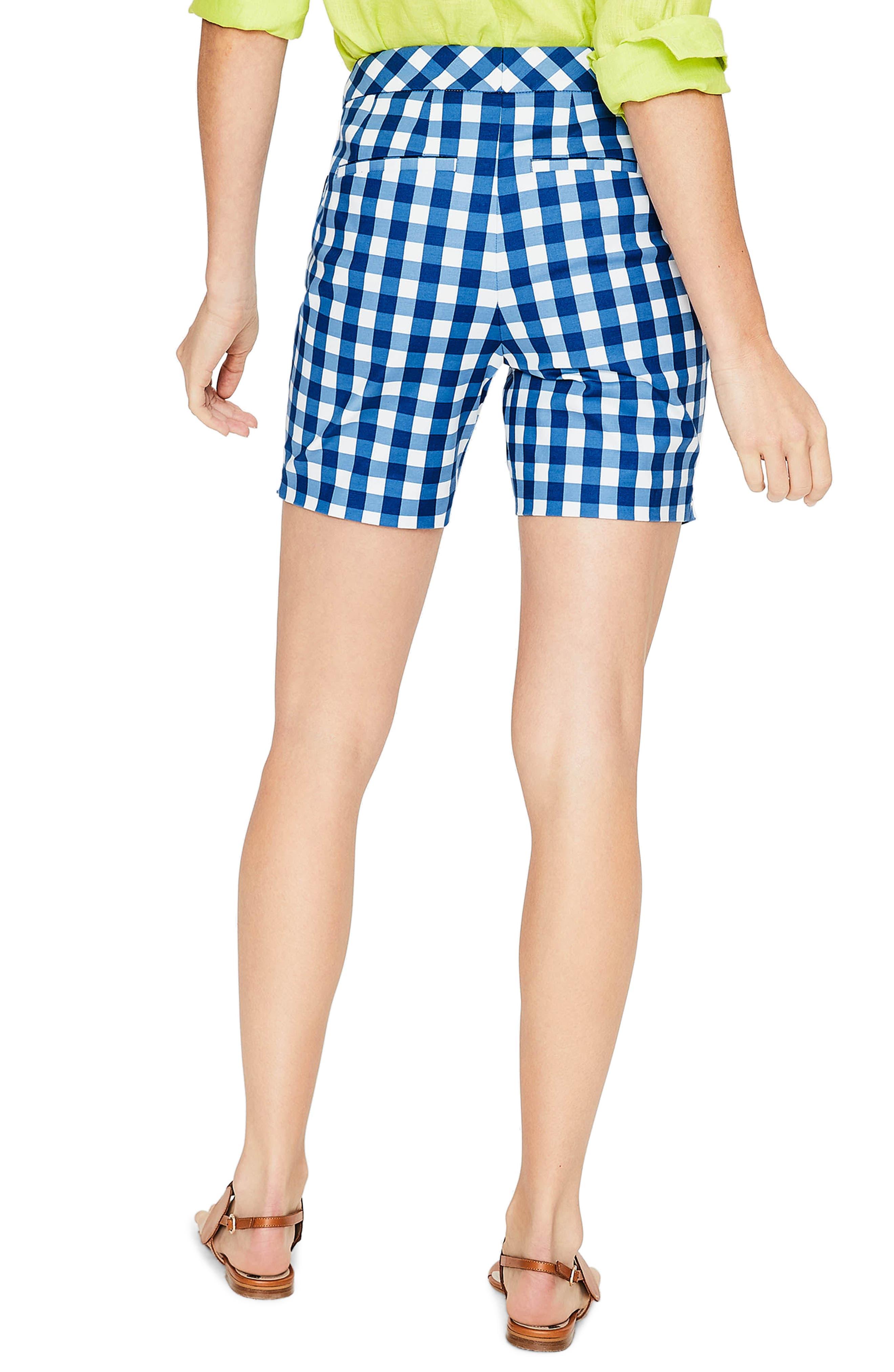 Richmond Check Shorts,                             Alternate thumbnail 2, color,                             Riviera Blue Gingham