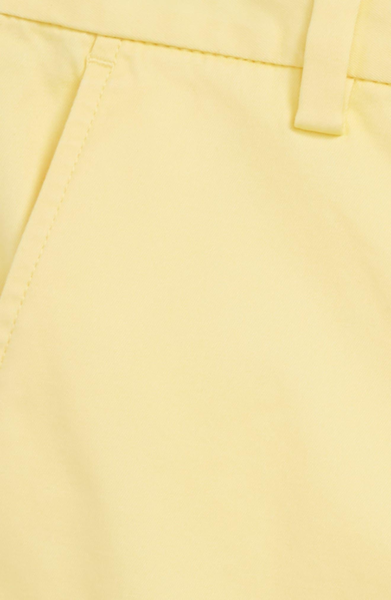 Stretch Breaker Shorts,                             Alternate thumbnail 2, color,                             Lemon Drop