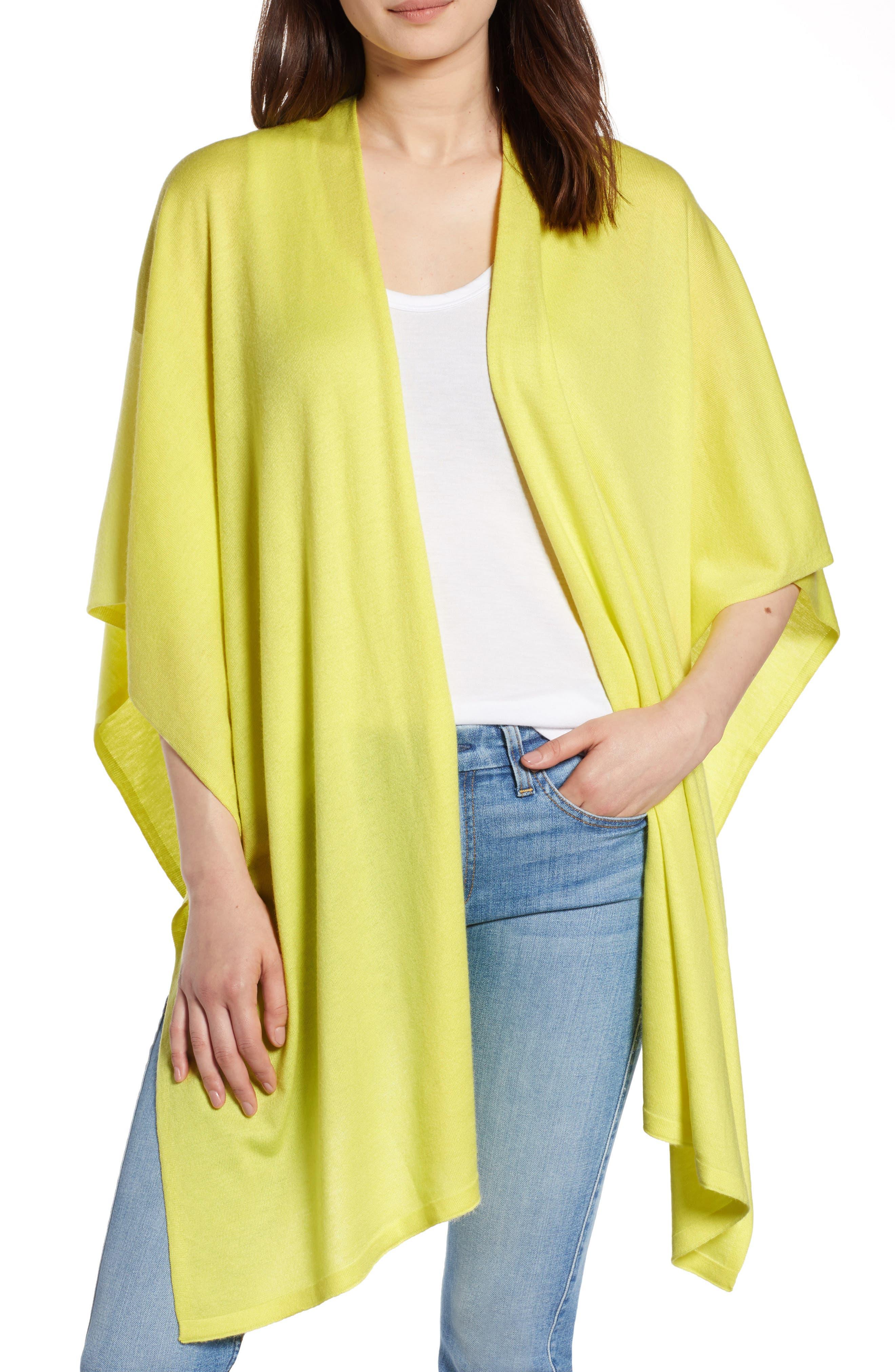 Core Everyday Ruana,                         Main,                         color, Sunny Lime