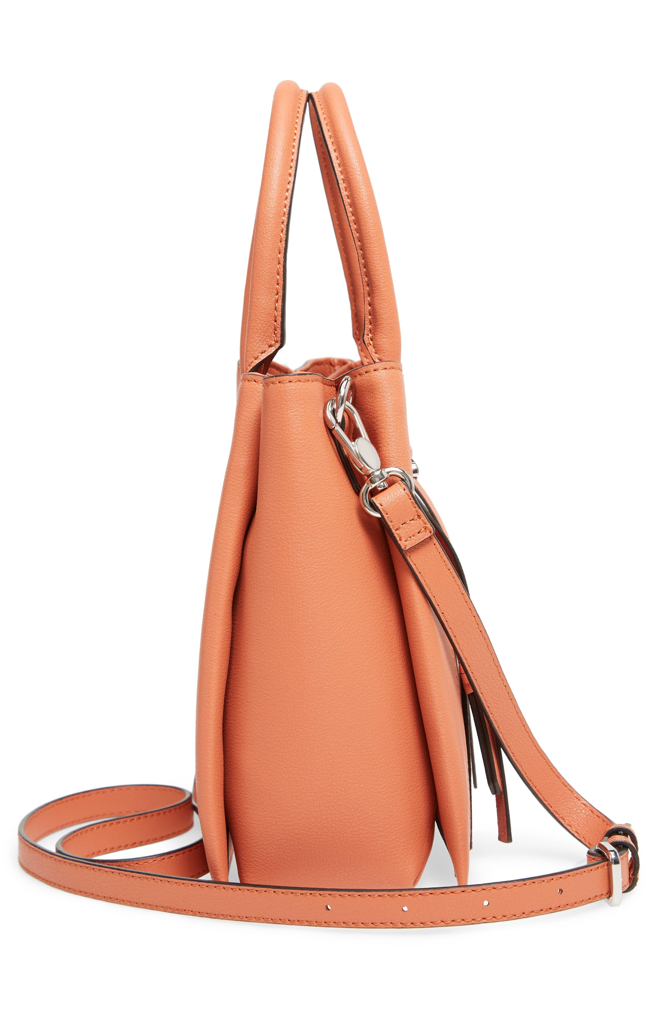 Everly Mini Shoulder Bag,                             Alternate thumbnail 5, color,                             Red
