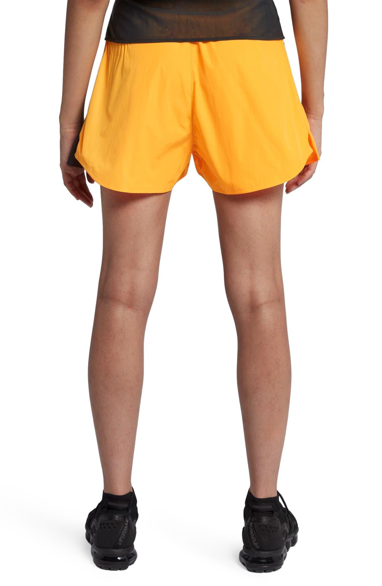 NikeLab ACG Women's Cargo Shorts.,                             Alternate thumbnail 2, color,                             Laser Orange/ Vast Grey