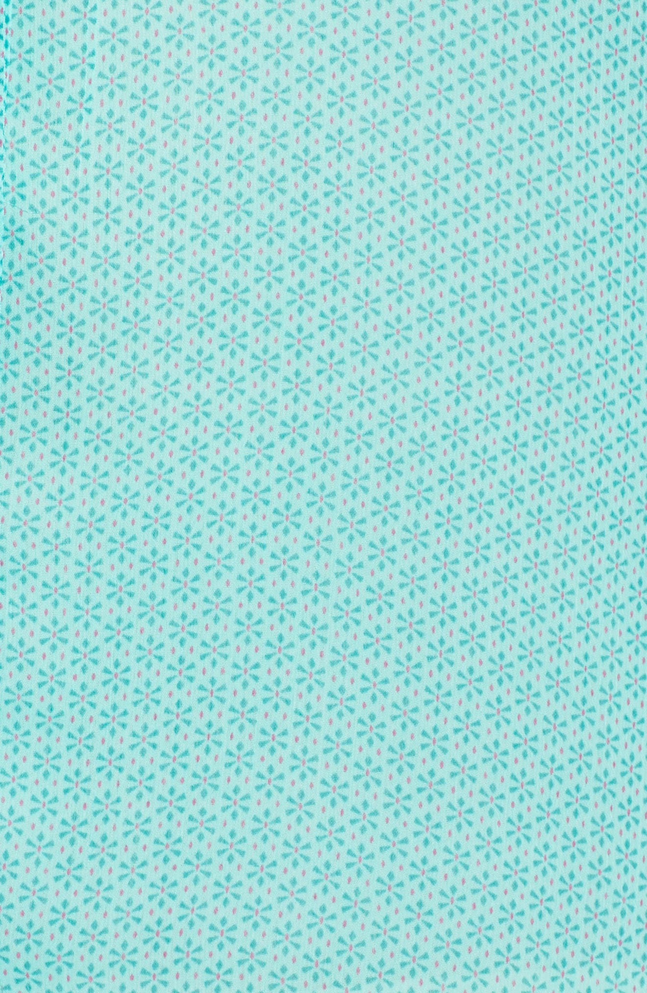 Jasmine Roll Sleeve Top,                             Alternate thumbnail 6, color,                             Mint