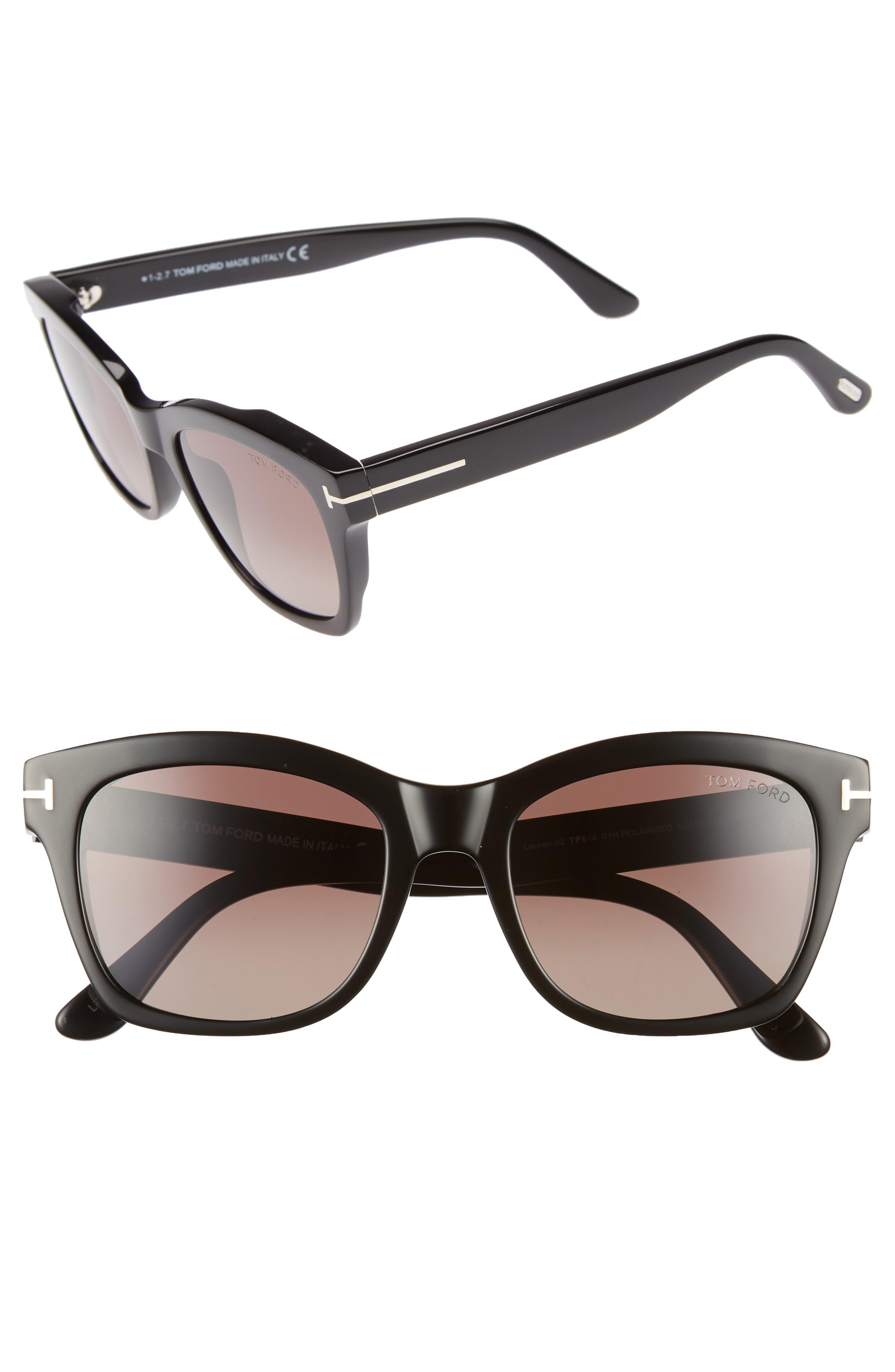 Tom Ford Lauren 52mm Sunglasses