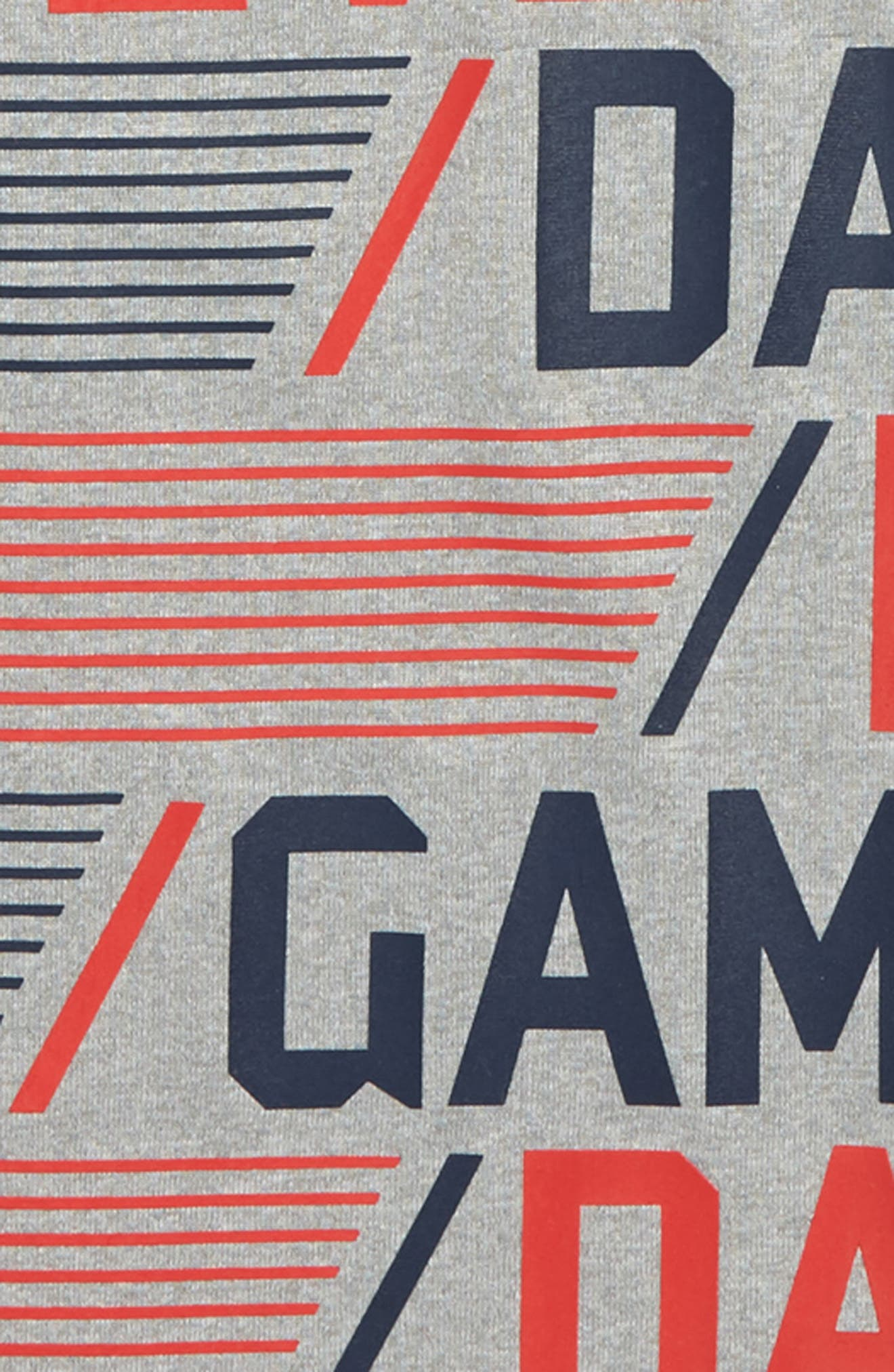 Every Day is Game Day HeatGear<sup>®</sup> T-Shirt,                             Alternate thumbnail 2, color,                             True Grey Heather