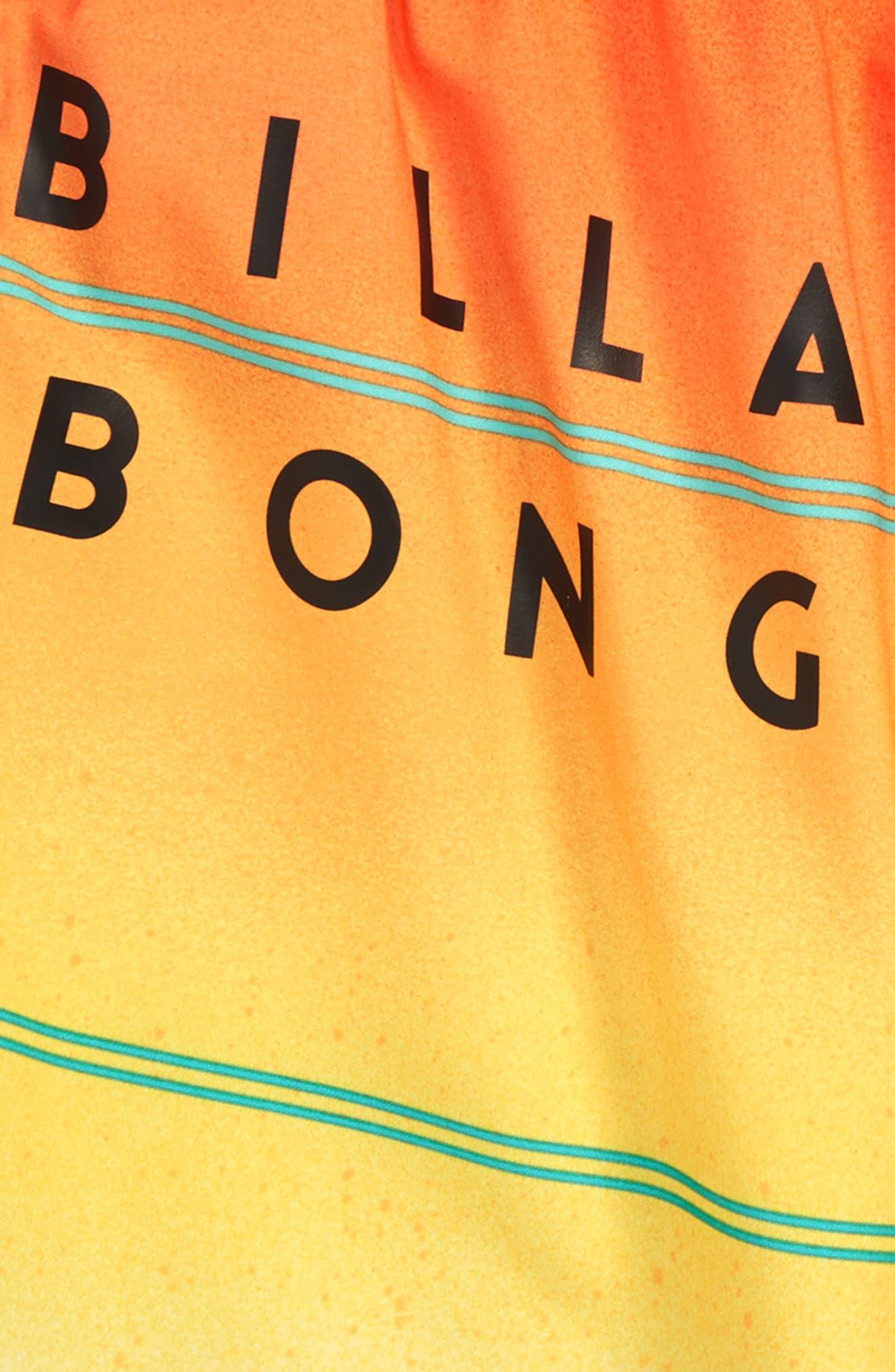 73 X Stripe Board Shorts,                             Alternate thumbnail 3, color,                             Yellow