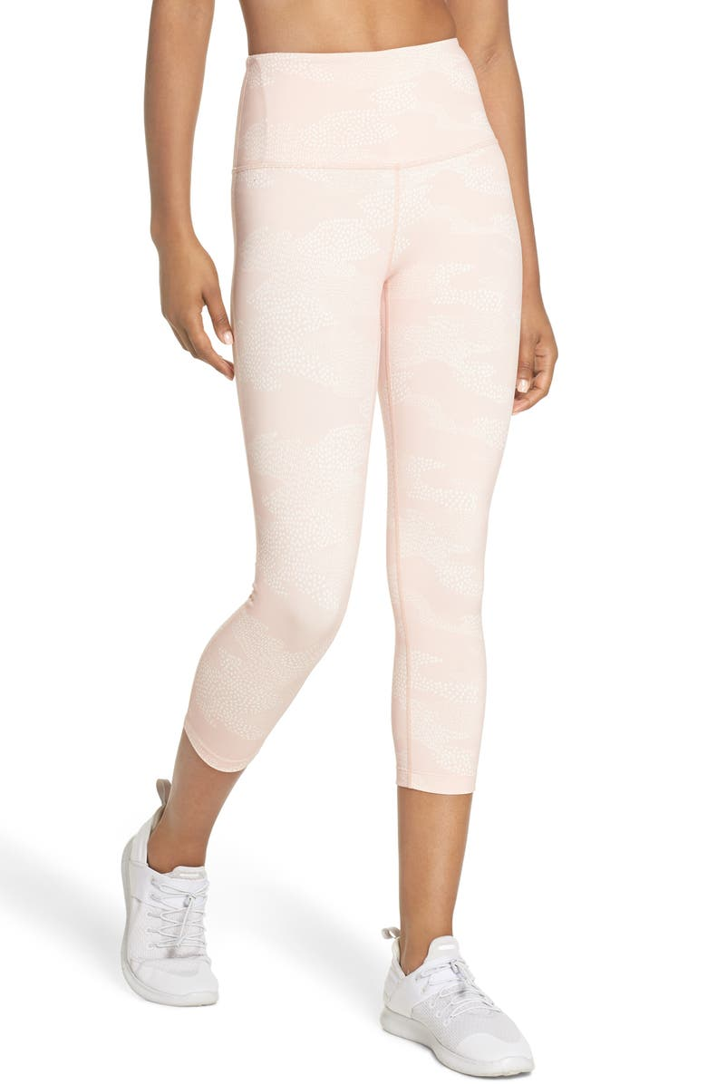 Live In High Waist Crop Leggings