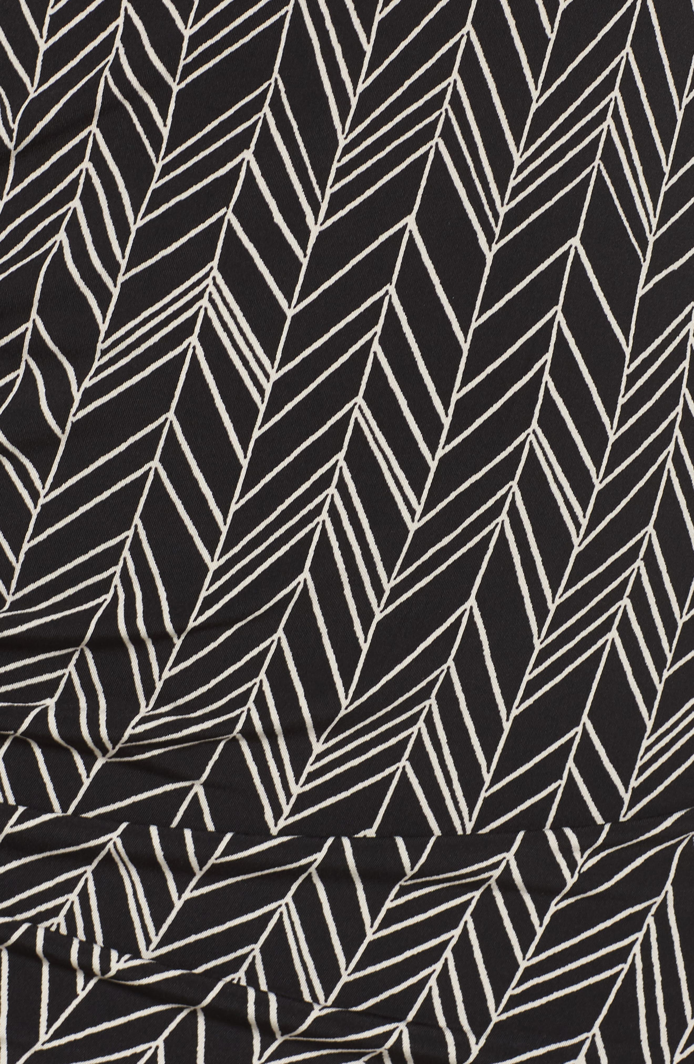 Herringbone Vine Tank,                             Alternate thumbnail 5, color,                             Rich Black