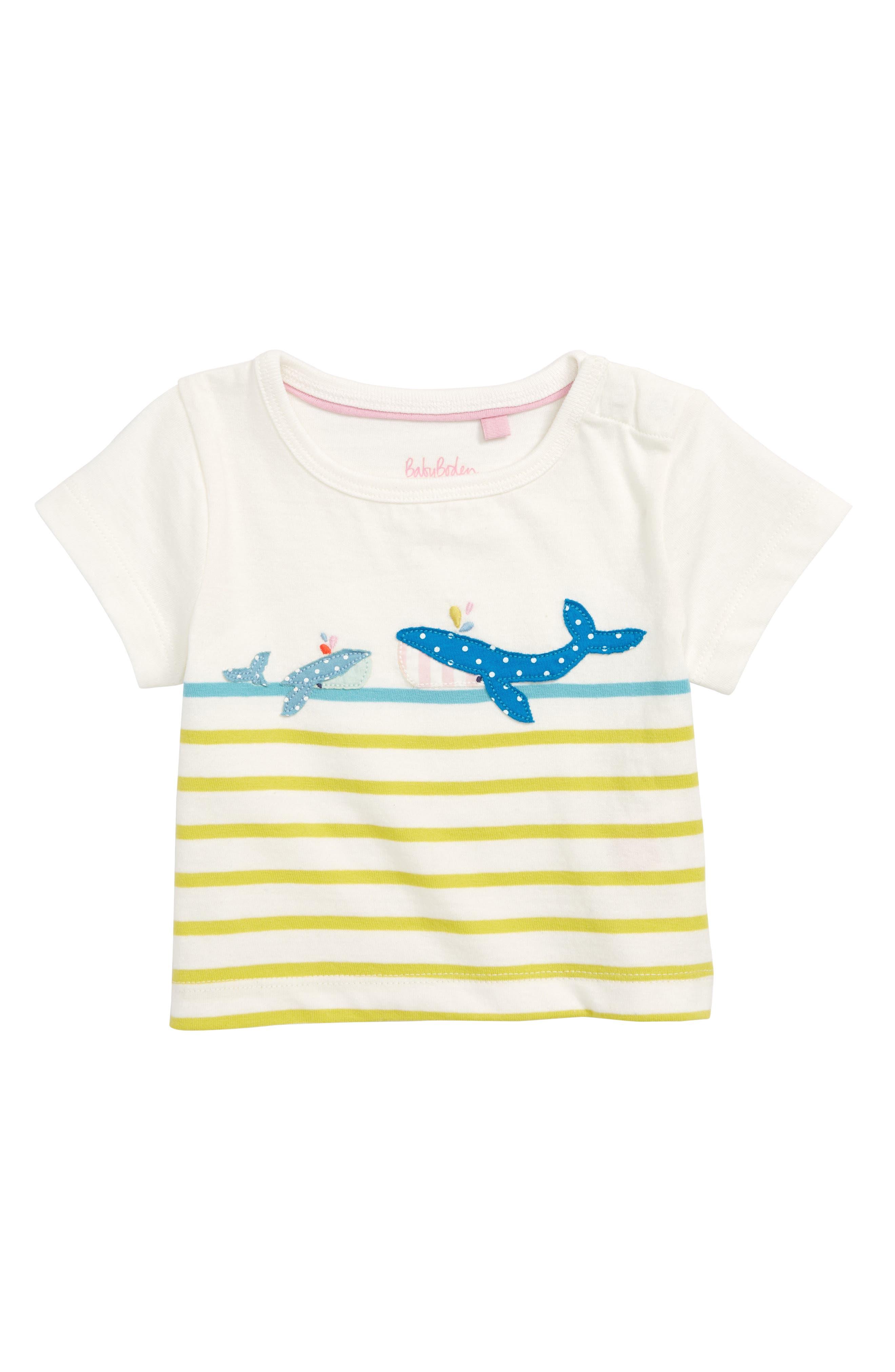 Mini Boden Fun Summer Appliqué T-Shirt (Babies & Toddlers)