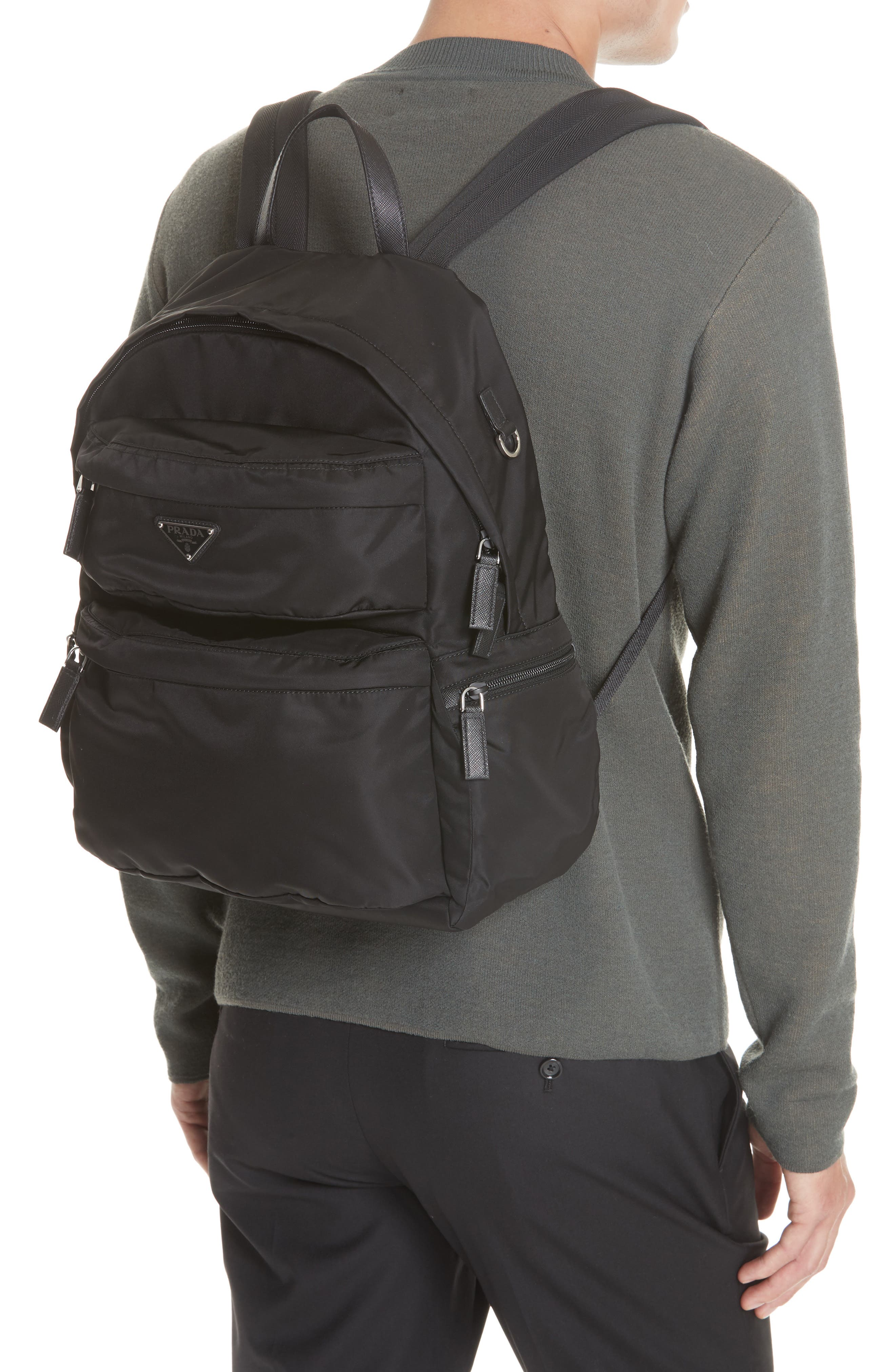 db5fa2c51487 Men s Prada Backpacks