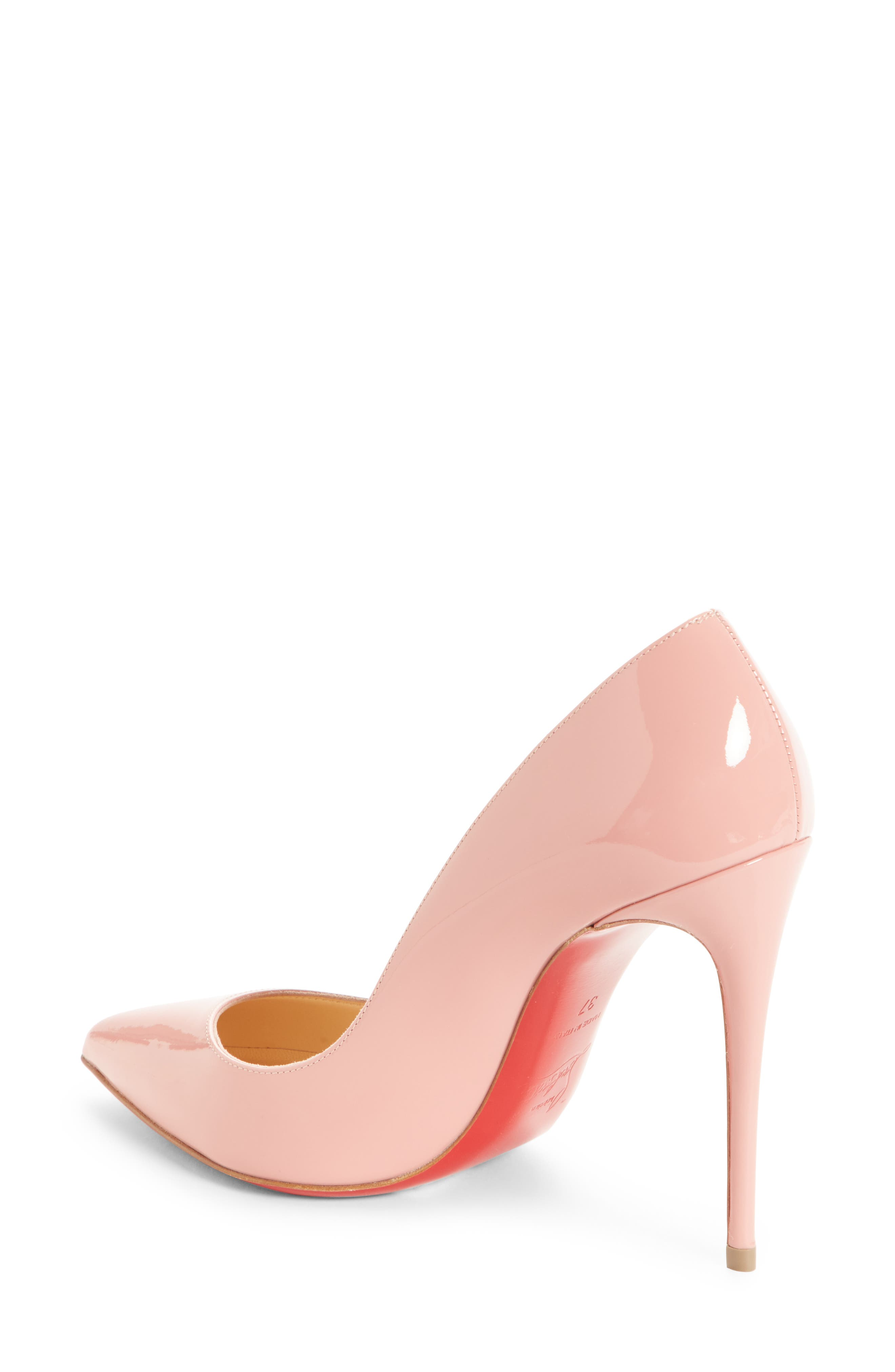 'Pigalle Follies' Pointy Toe Pump,                             Alternate thumbnail 2, color,                             Marshmallow Pink