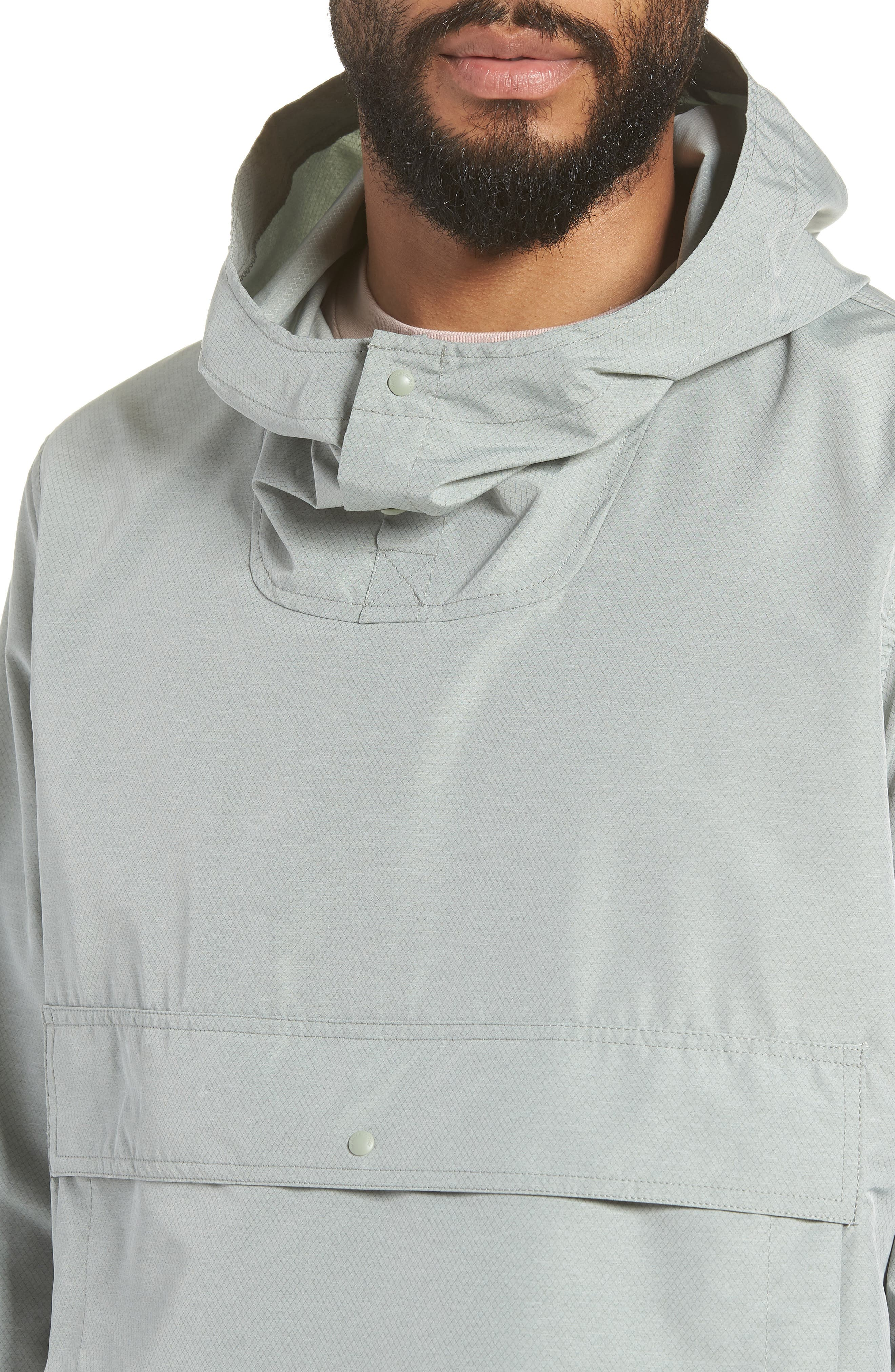 Voyage Anorak,                             Alternate thumbnail 4, color,                             Shadow Crosshatch / Black