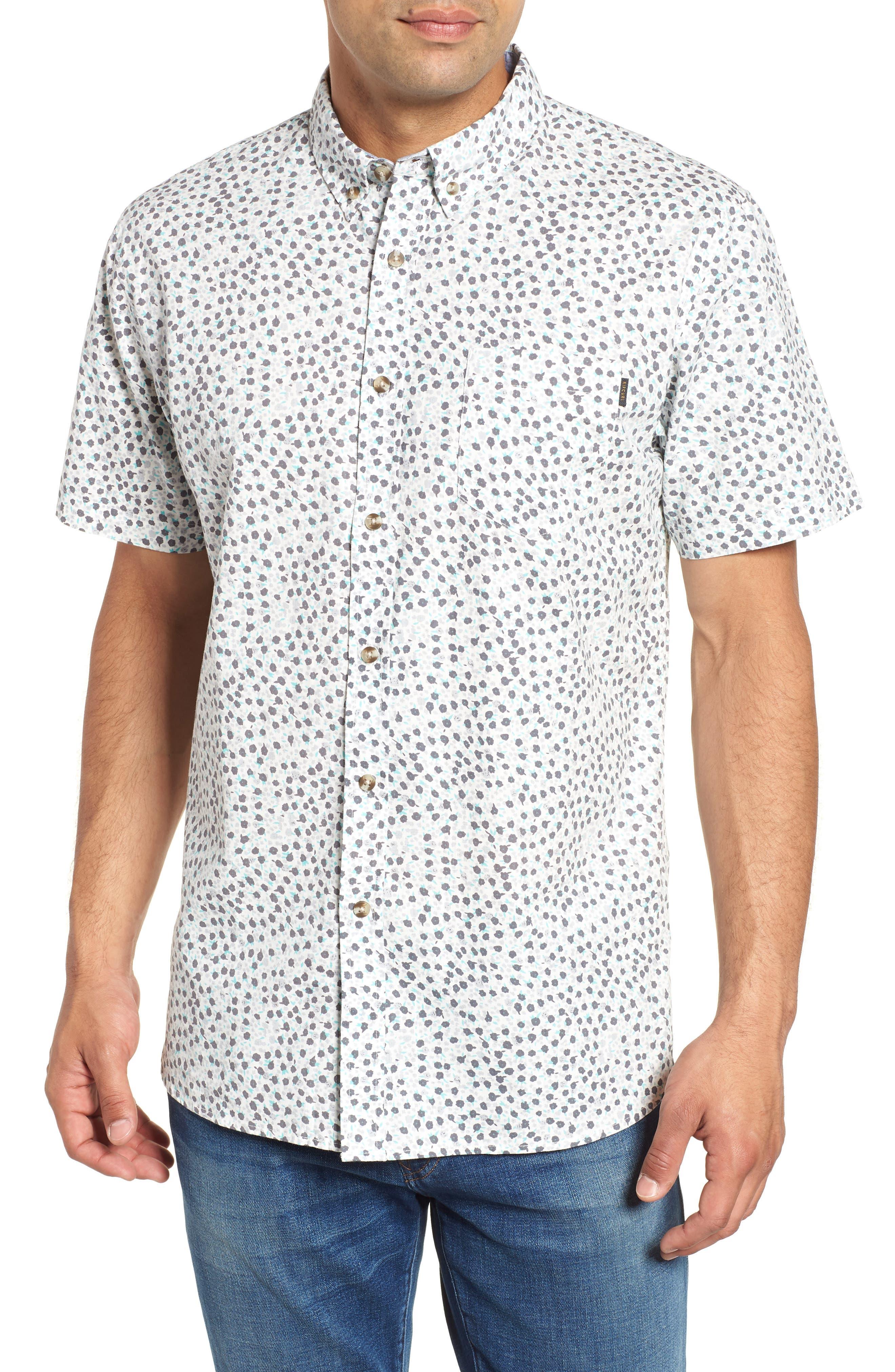 El Mirador Woven Shirt,                             Main thumbnail 1, color,                             Off White