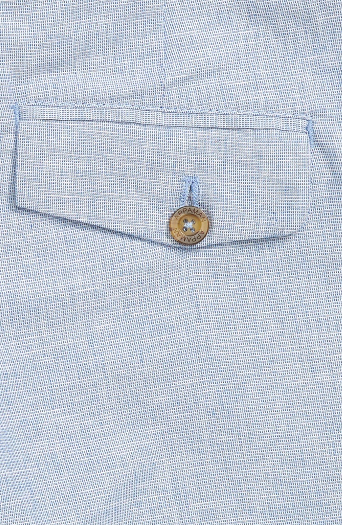 Trouser Shorts,                             Alternate thumbnail 3, color,                             Sky Club