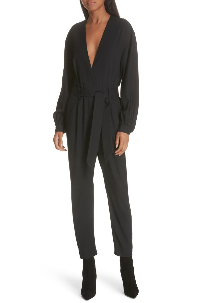 Iro Jumpsuits FRAME BELTED JUMPSUIT