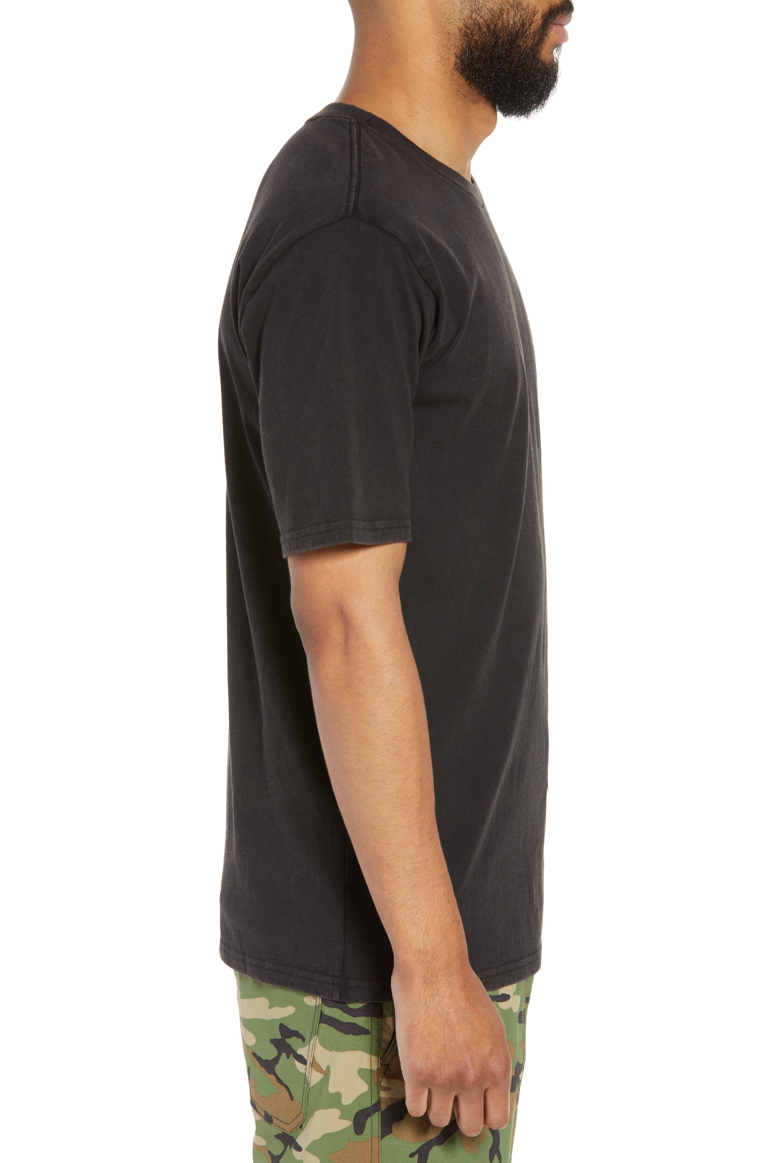 Rival II Graphic T-Shirt,                             Alternate thumbnail 5, color,                             Black/ White/ White