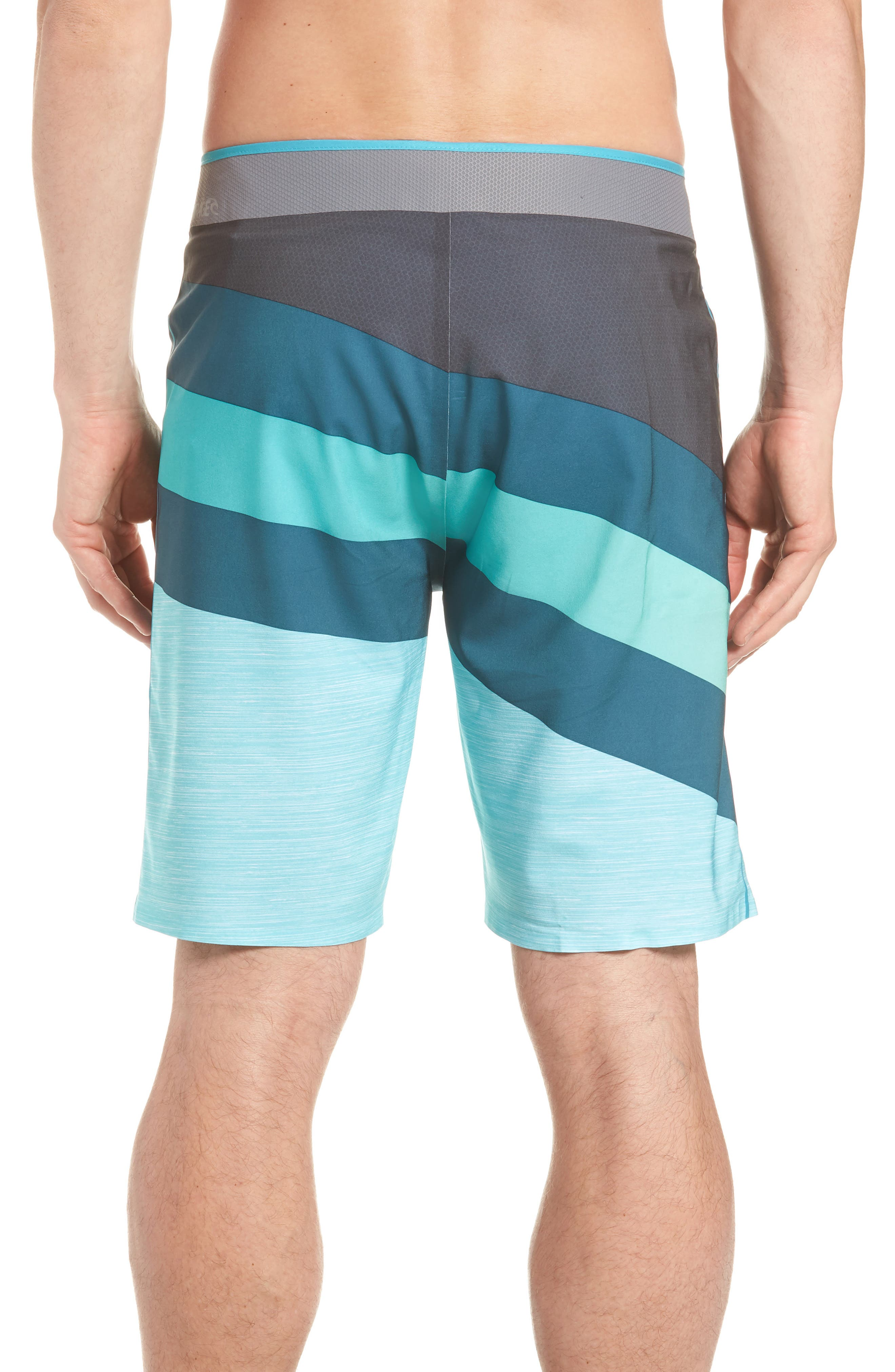 Mirage React Ultimate Board Short,                             Alternate thumbnail 2, color,                             Teal