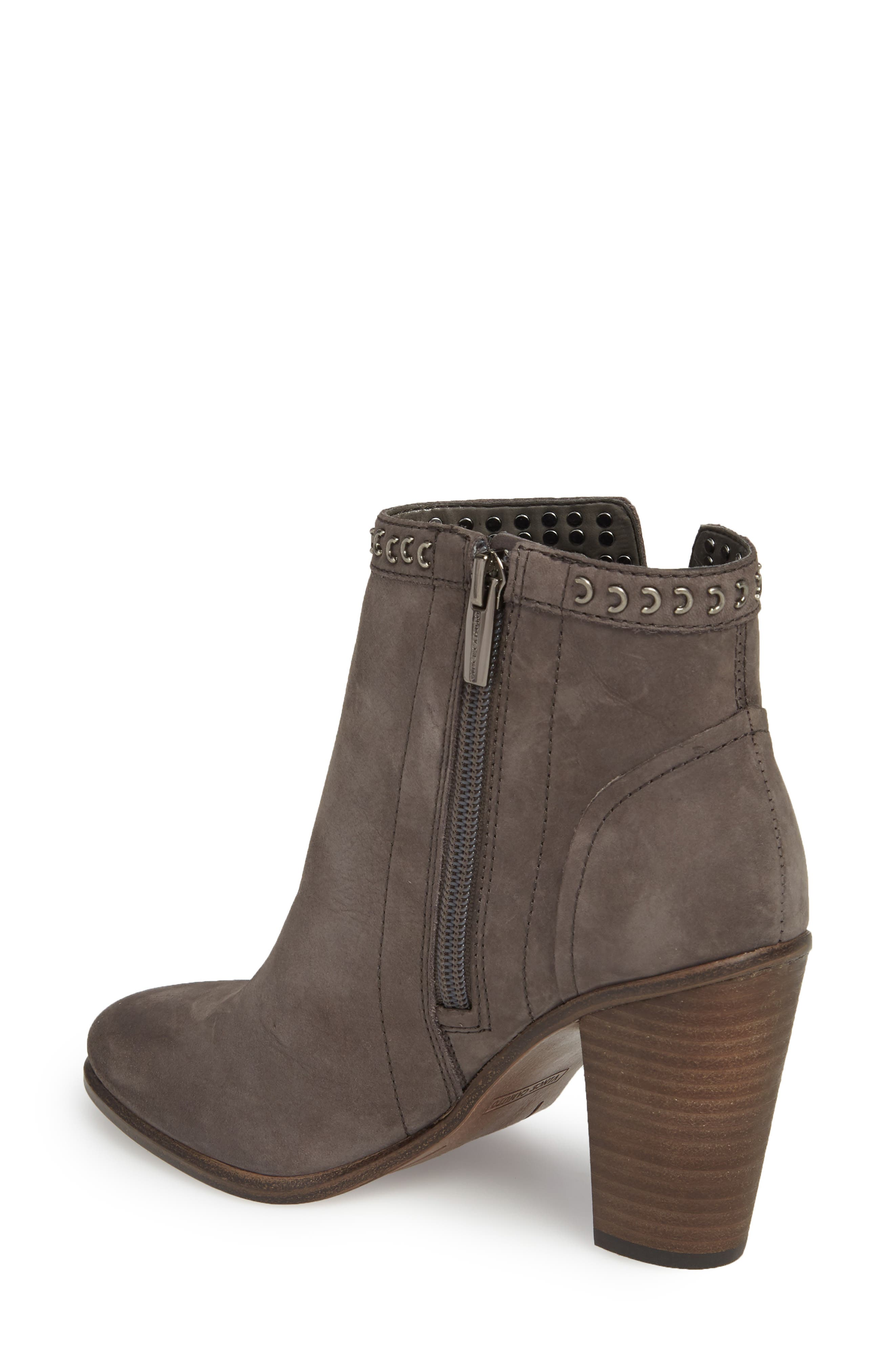 Finchie Bootie,                             Alternate thumbnail 2, color,                             Greystone Leather