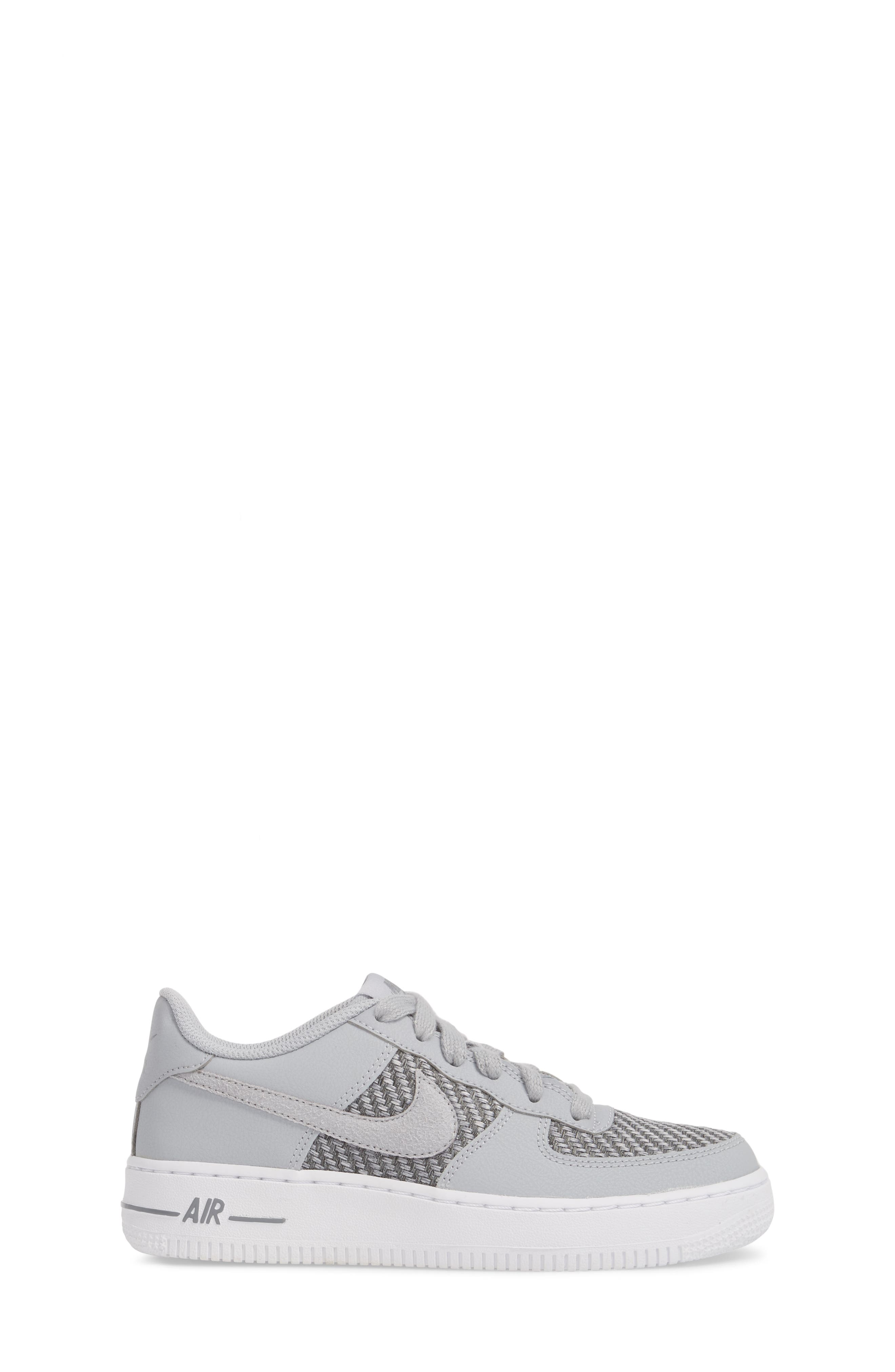Air Force 1 LV8 Sneaker,                             Alternate thumbnail 3, color,                             Cool Grey/ White