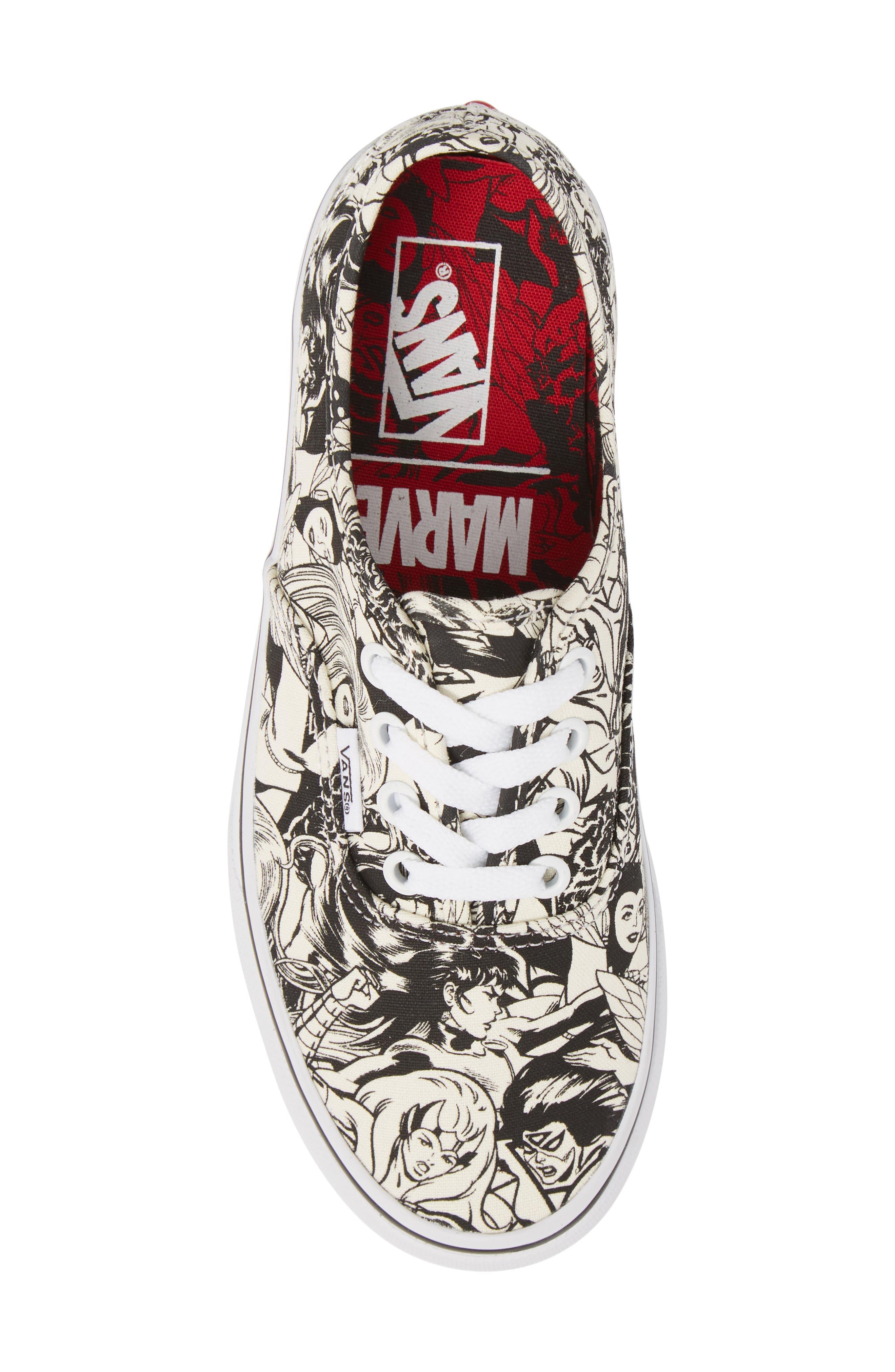 x Marvel<sup>®</sup><sup>®</sup> Sneaker,                             Alternate thumbnail 5, color,                             Marvel Multi/ Women