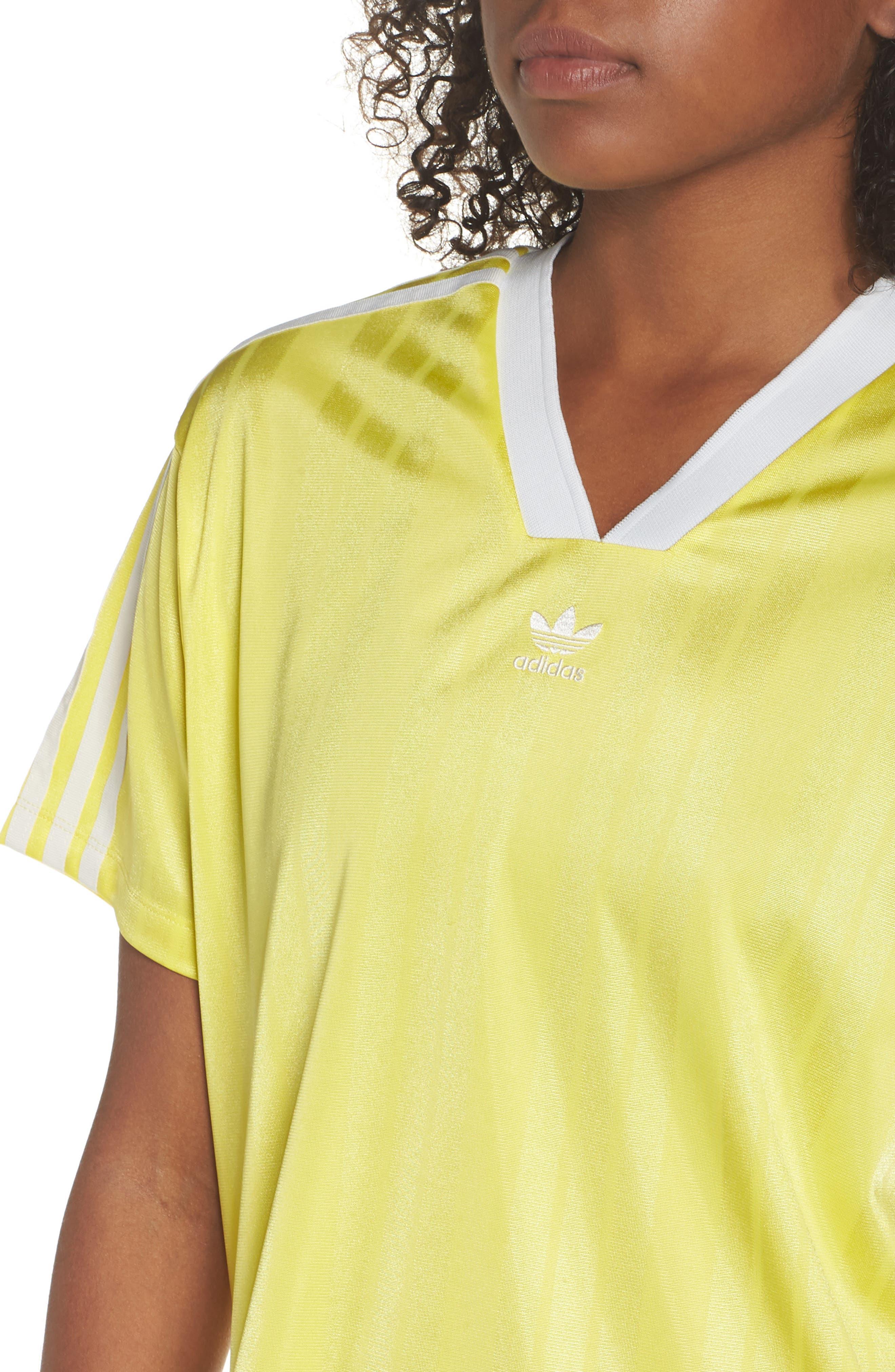 Originals Fashion League Jersey Tee,                             Alternate thumbnail 4, color,                             Prime Yellow