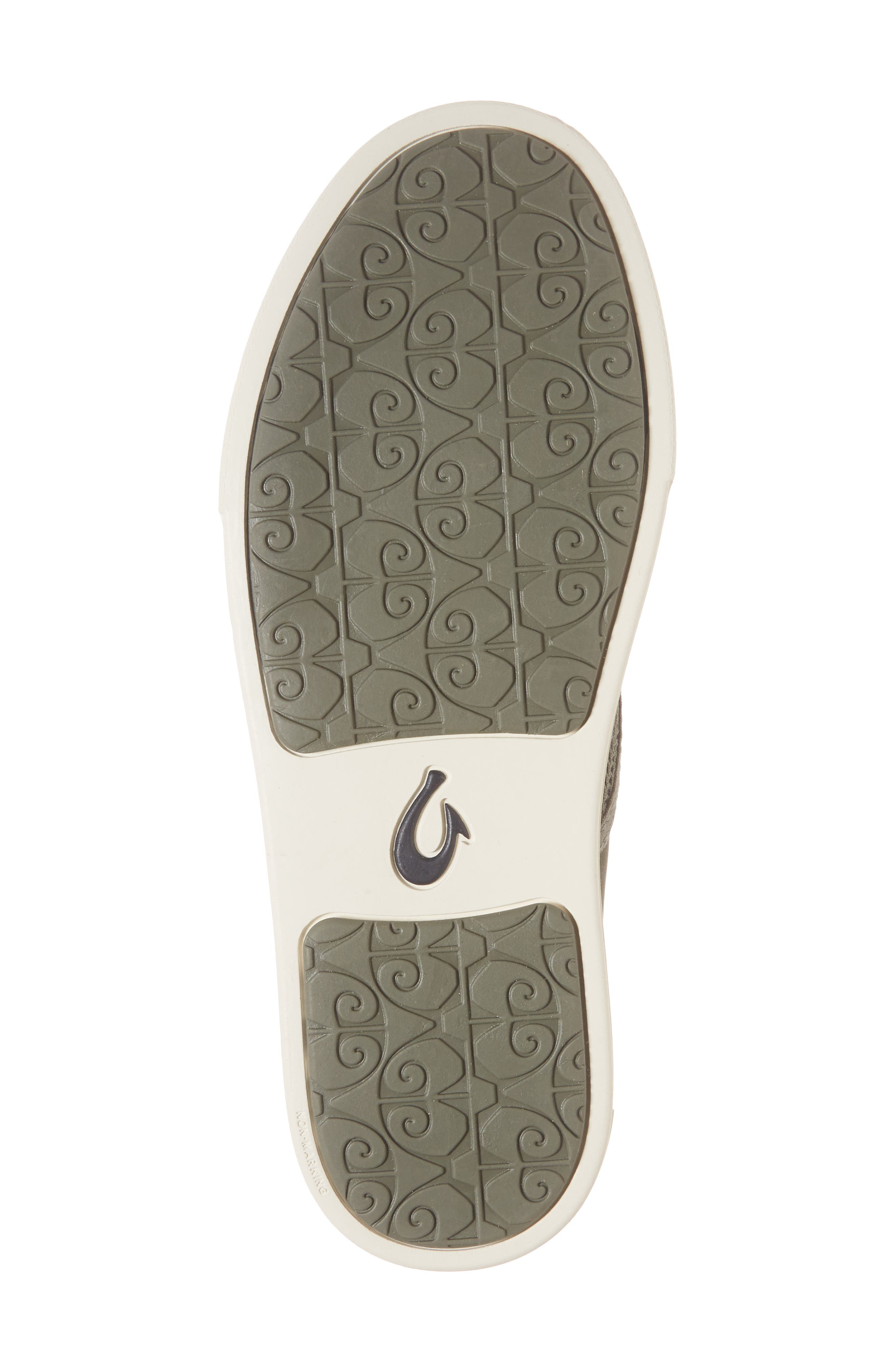 'Pehuea' Slip-On Sneaker,                             Alternate thumbnail 5, color,                             Dusty Olive/ Palm Fabric