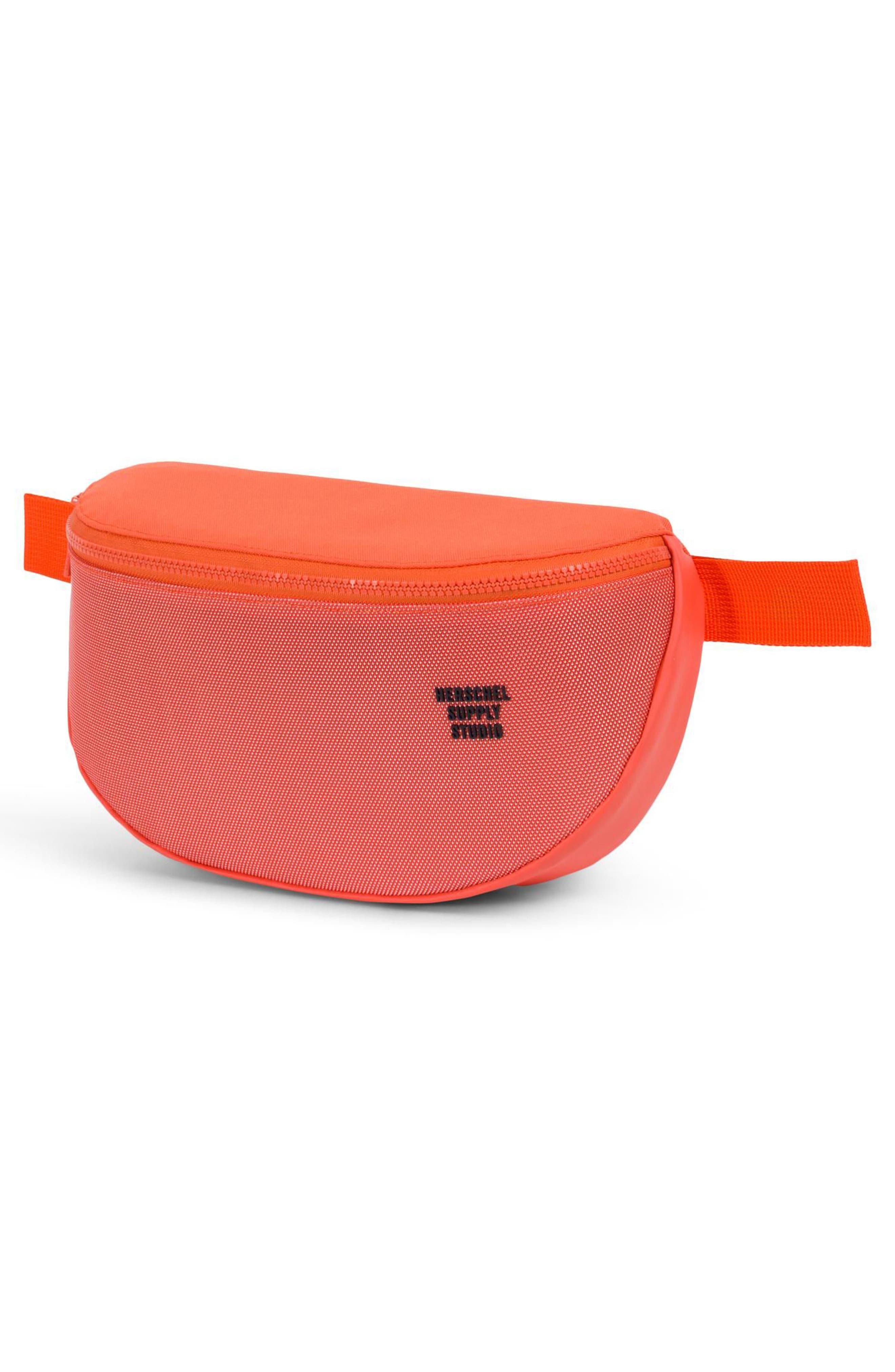 Sixteen Studio Belt Bag,                             Alternate thumbnail 3, color,                             Vermillion Orange
