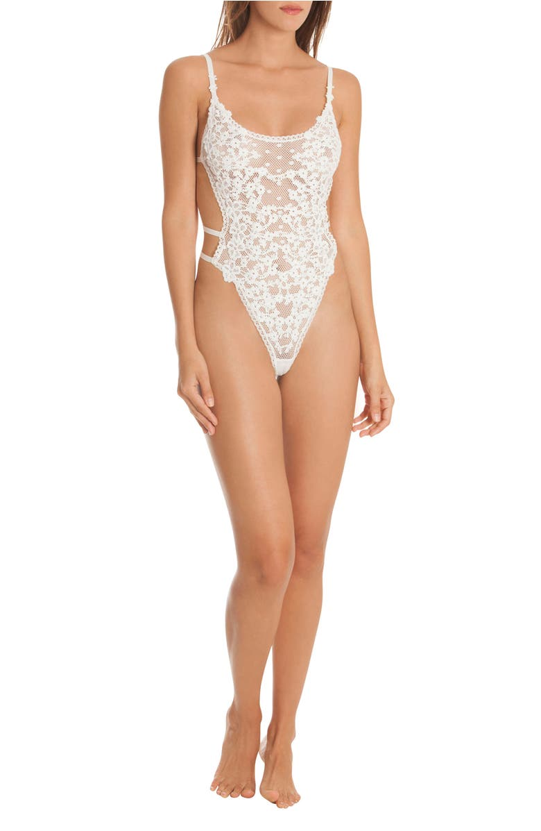In Bloom by Jonquil Lace Thong Bodysuit
