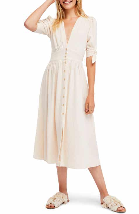 3e5f03250e Free People Love of My Life Midi Dress